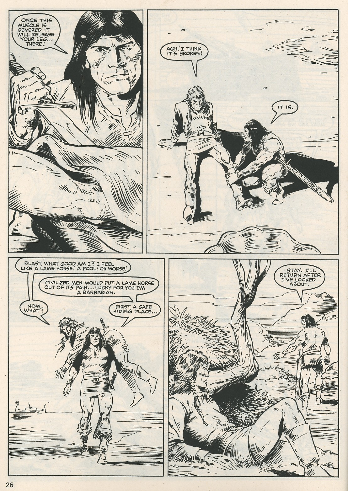 The Savage Sword Of Conan Issue #115 #116 - English 26