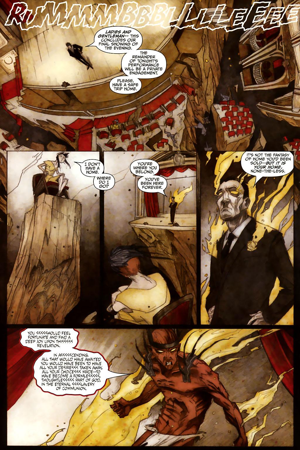 Girl 13 Page 6 #6 - English 20