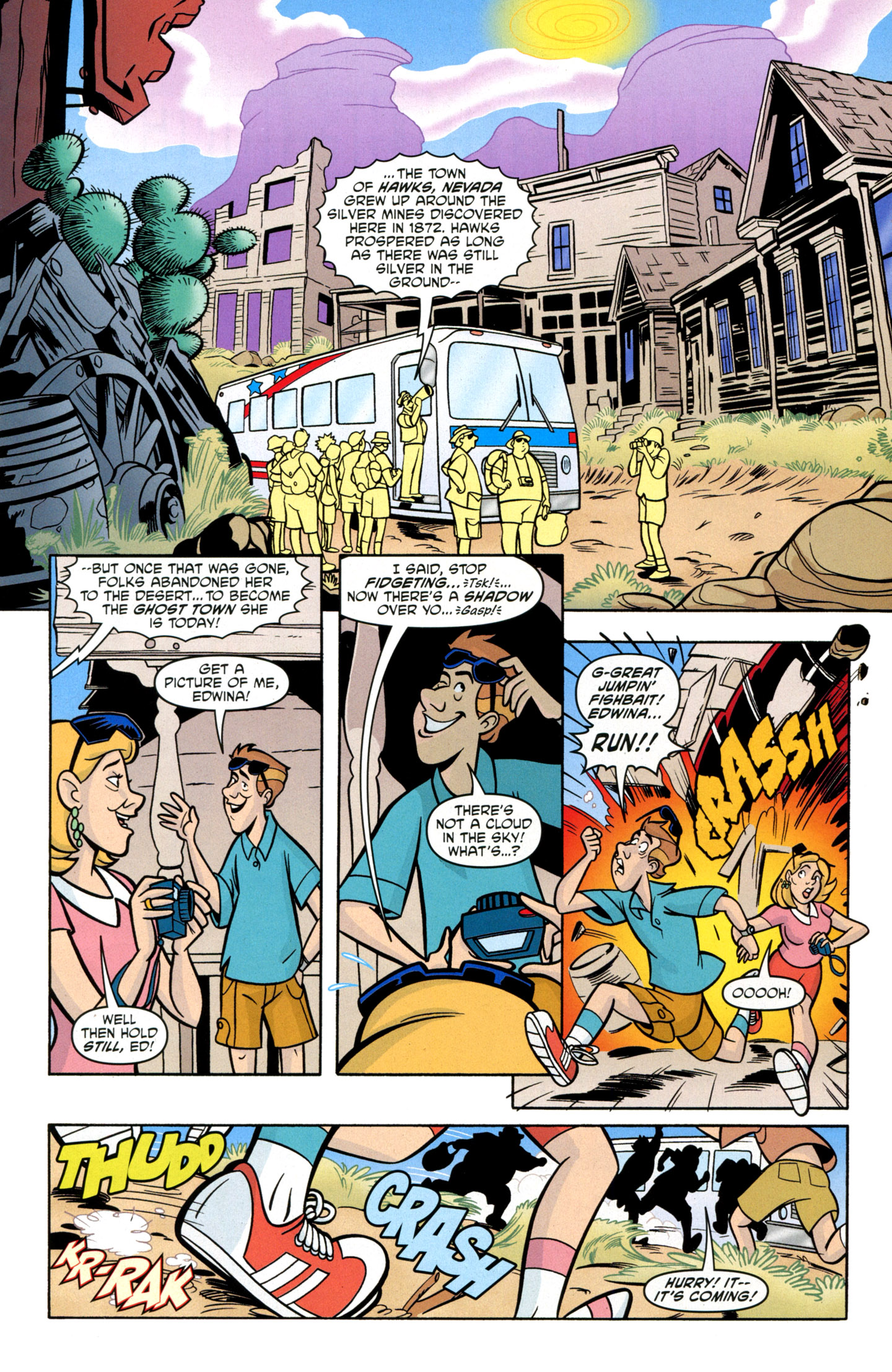 Read online Scooby-Doo: Where Are You? comic -  Issue #14 - 17