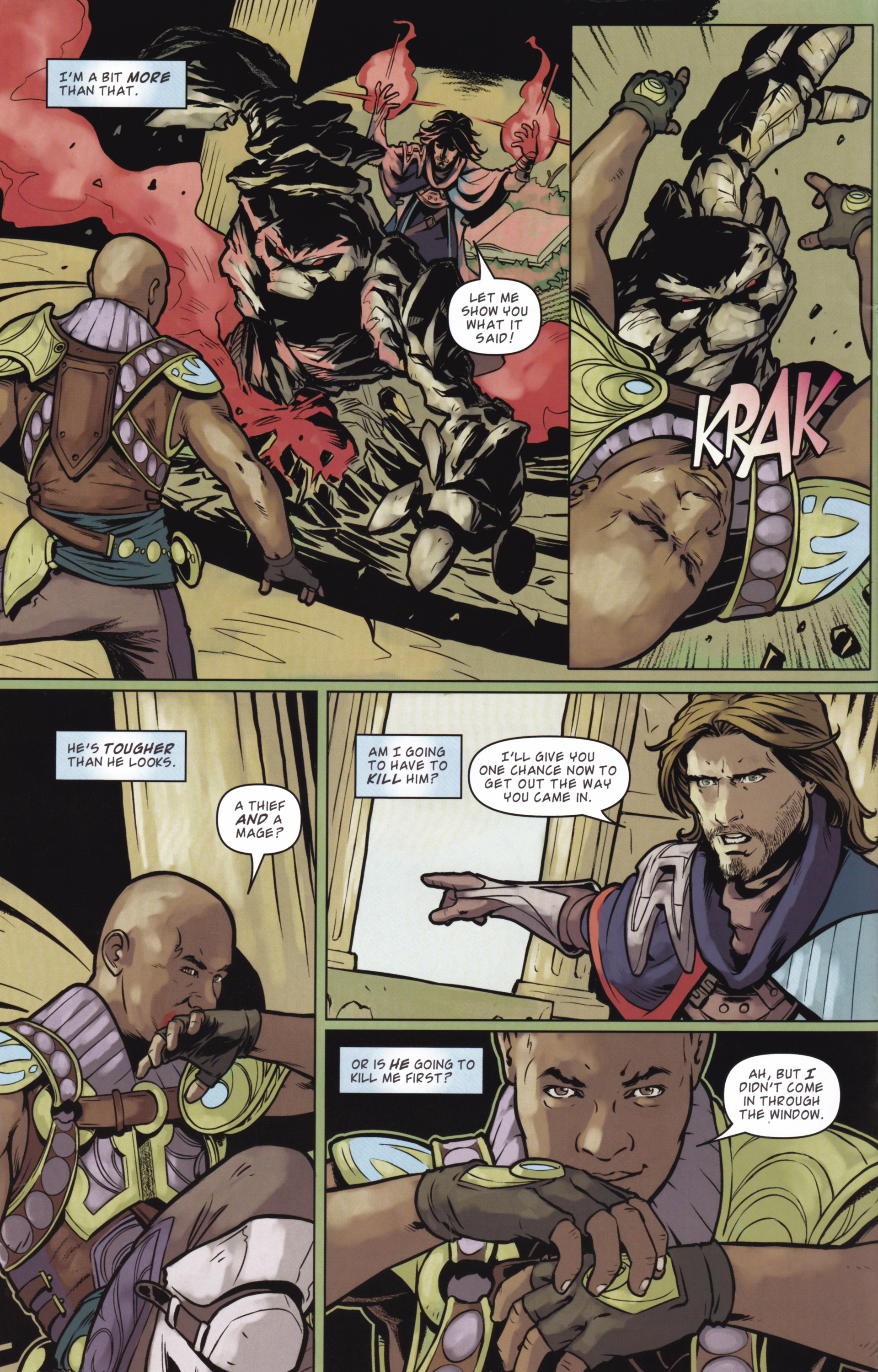 Read online Magic: The Gathering--Path of Vengeance comic -  Issue #2 - 14