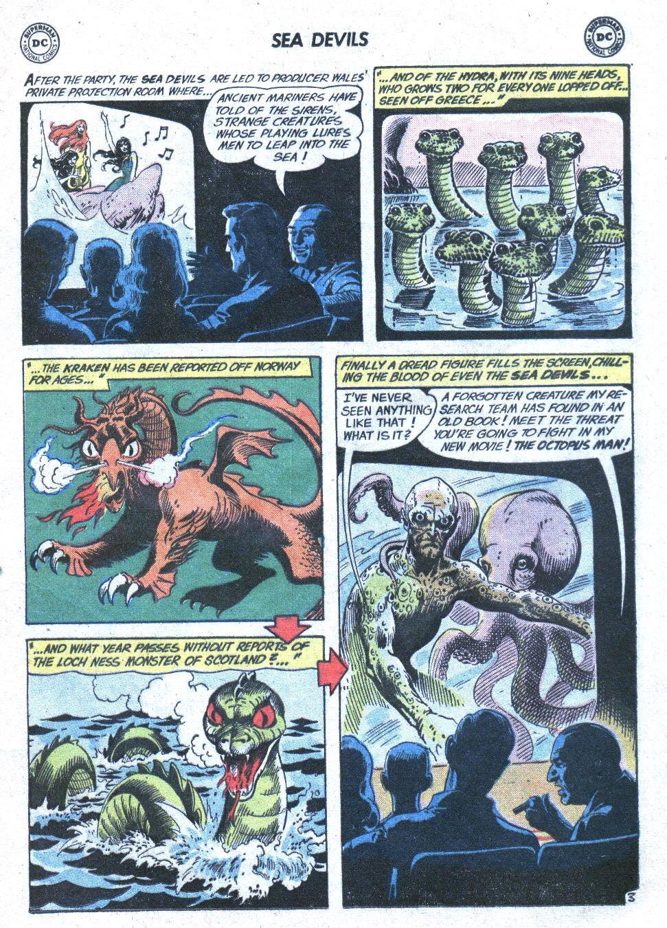 Read online Sea Devils comic -  Issue #1 - 6