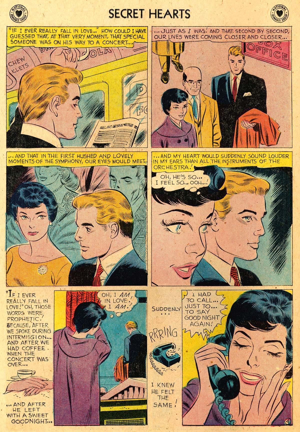 Read online Secret Hearts comic -  Issue #52 - 22
