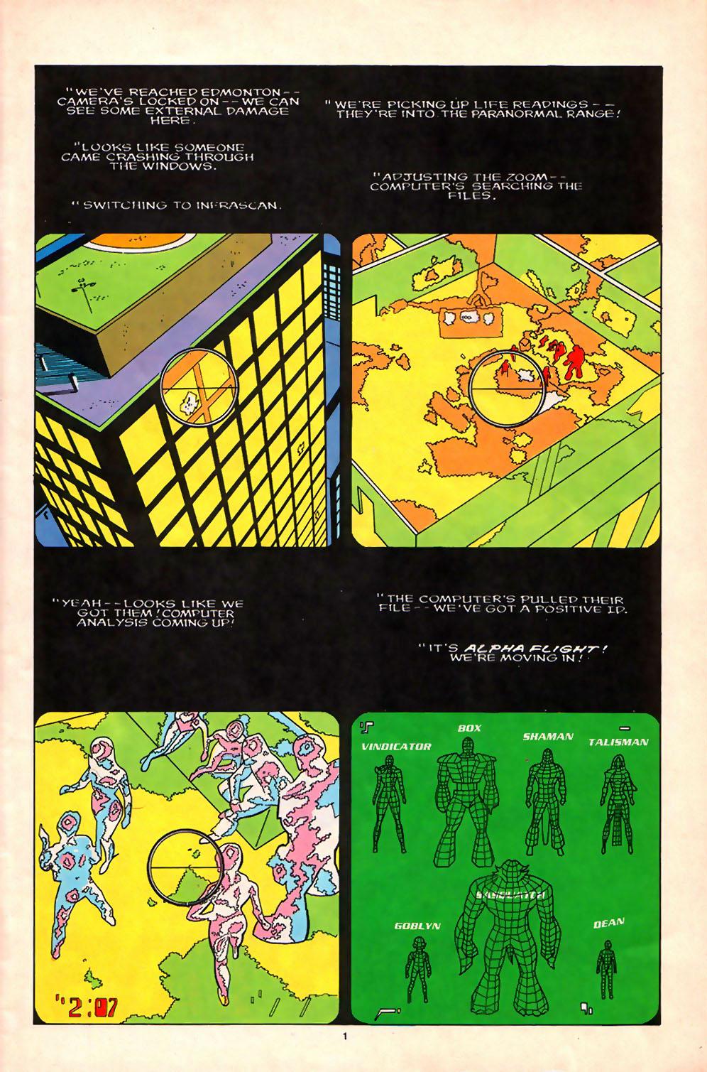 Alpha Flight (1983) 71 Page 2