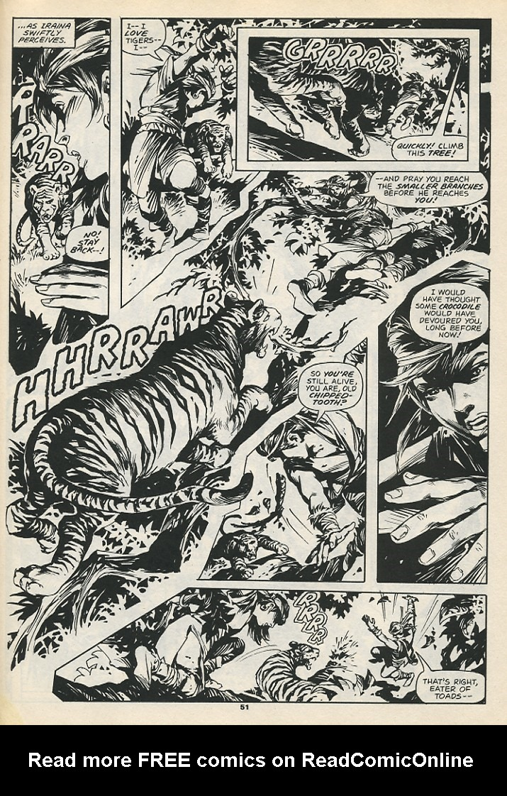 The Savage Sword Of Conan Issue #192 #193 - English 53