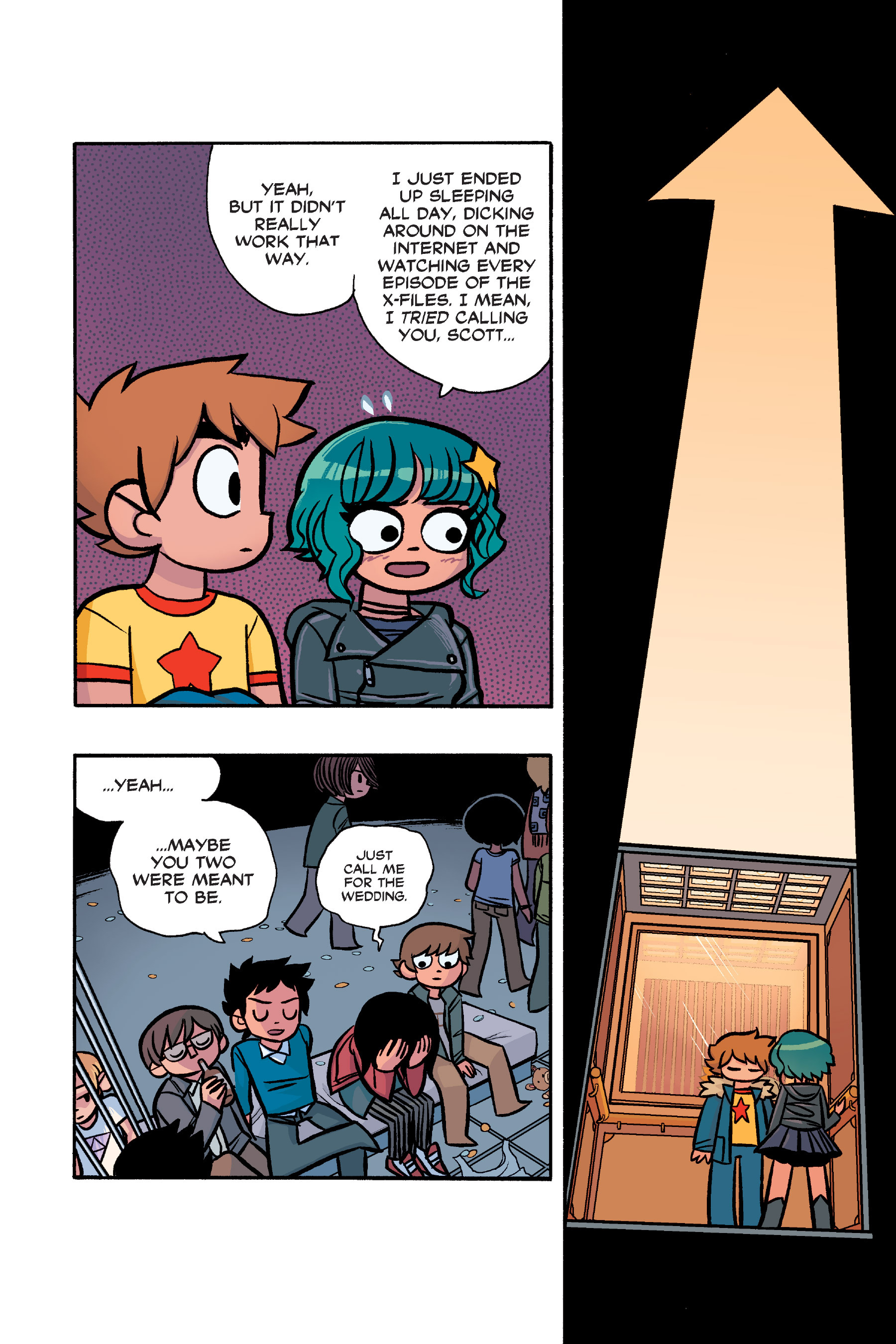 Read online Scott Pilgrim comic -  Issue #6 - 221