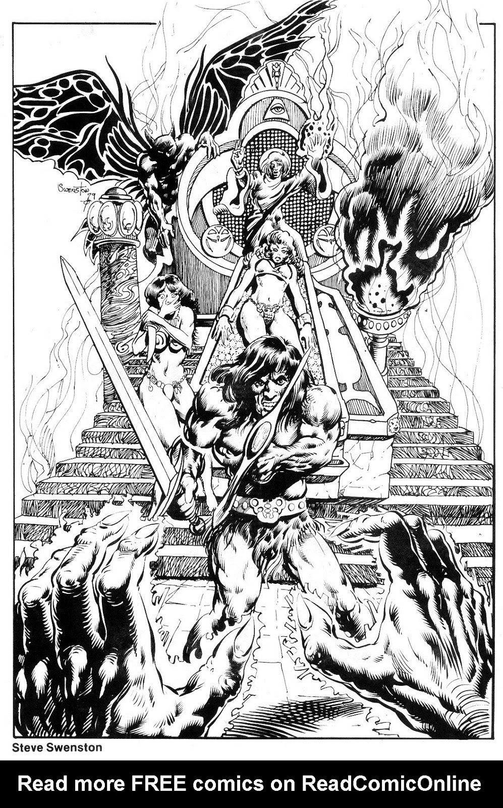 The Savage Sword Of Conan Issue #55 #56 - English 47