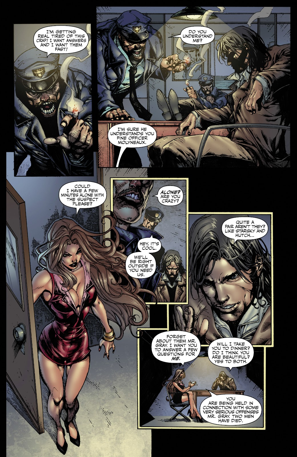 Read online Witchblade: Shades of Gray comic -  Issue #1 - 20