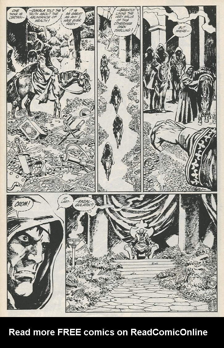 The Savage Sword Of Conan Issue #189 #190 - English 31