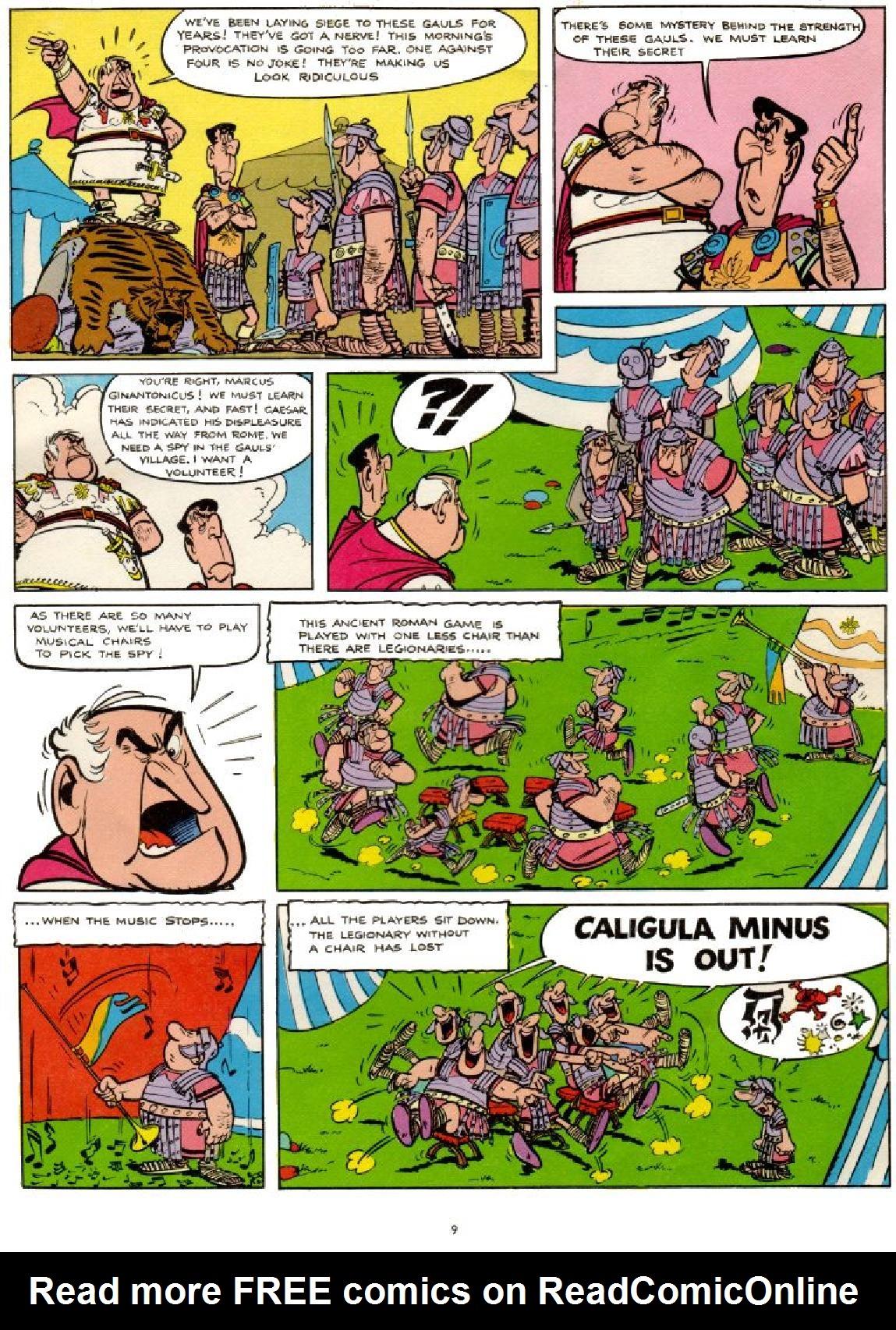 Asterix #1 #38 - English 9