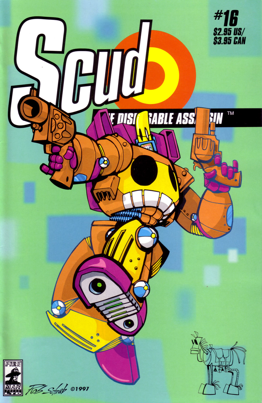 Read online Scud: The Disposable Assassin (1994) comic -  Issue #16 - 1