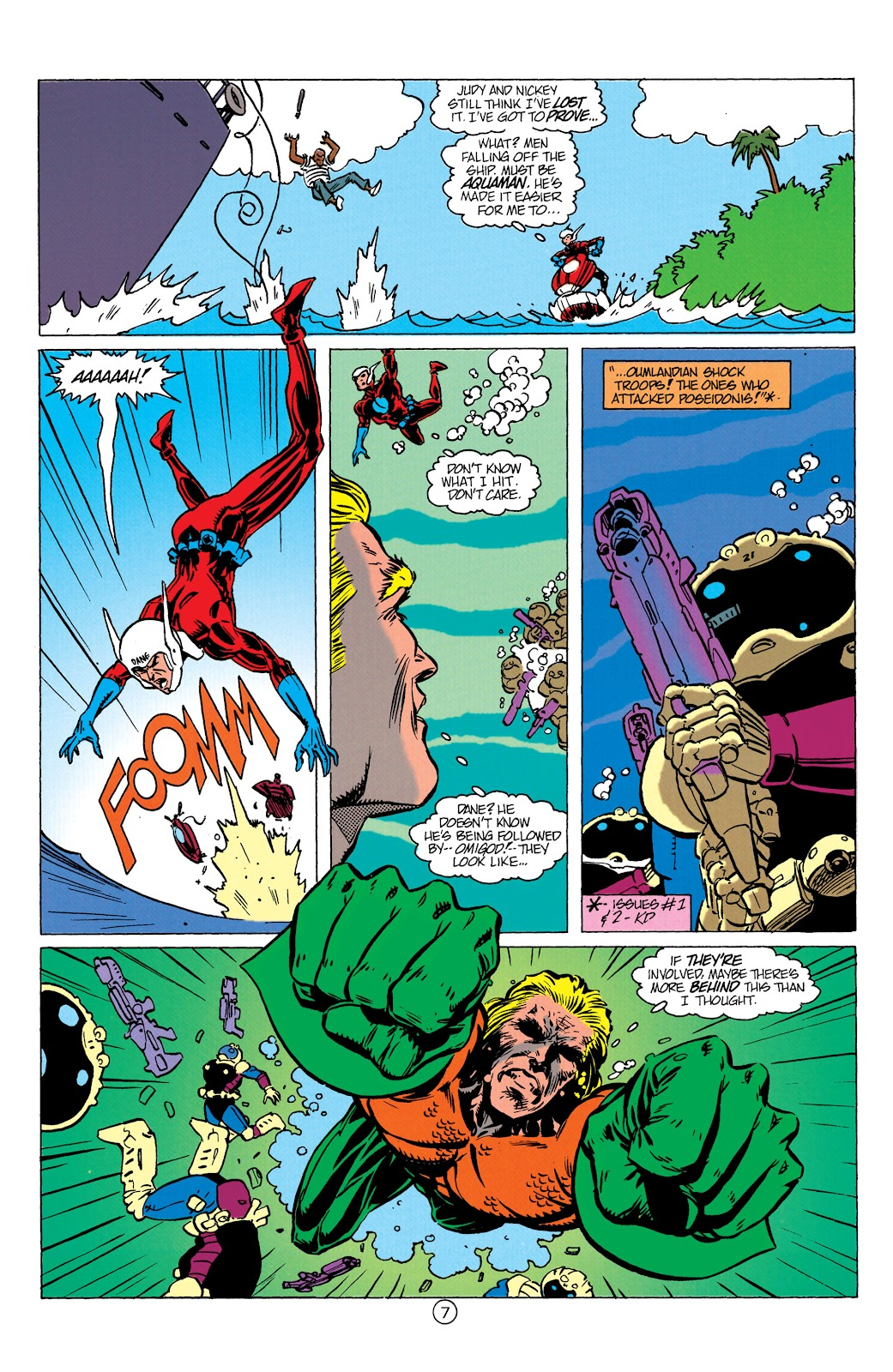 Aquaman (1991) Issue #10 #10 - English 8
