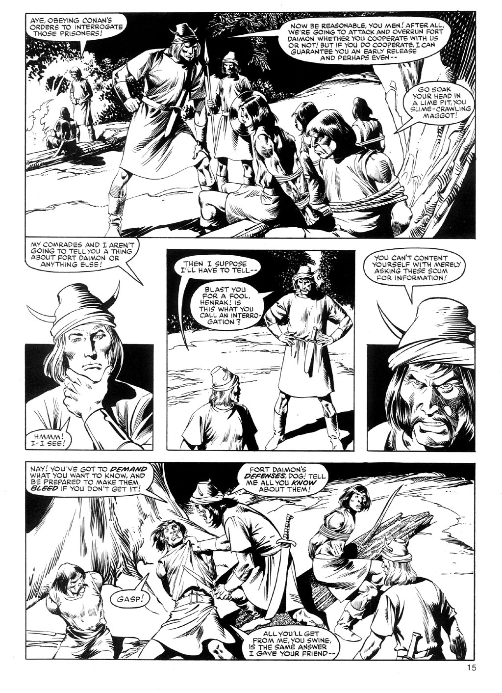 The Savage Sword Of Conan Issue #91 #92 - English 14