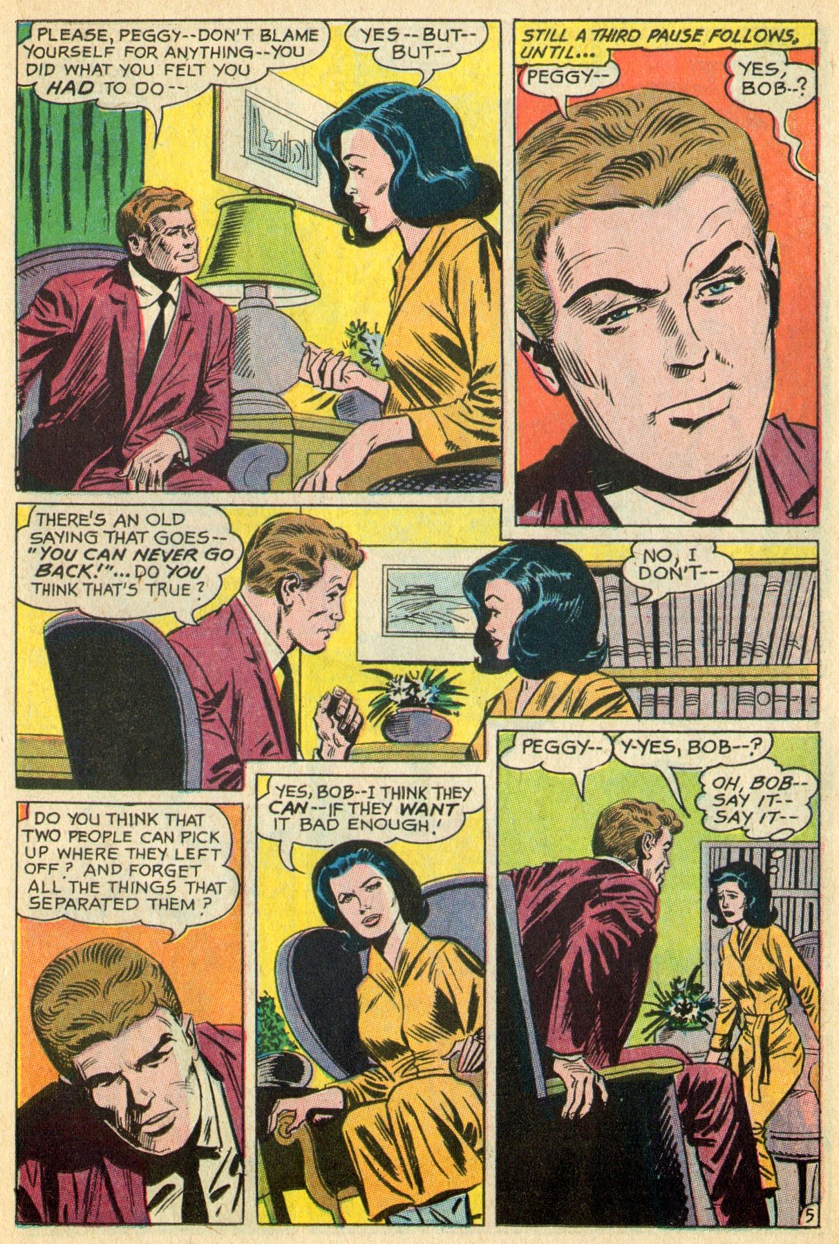 Read online Secret Hearts comic -  Issue #119 - 23