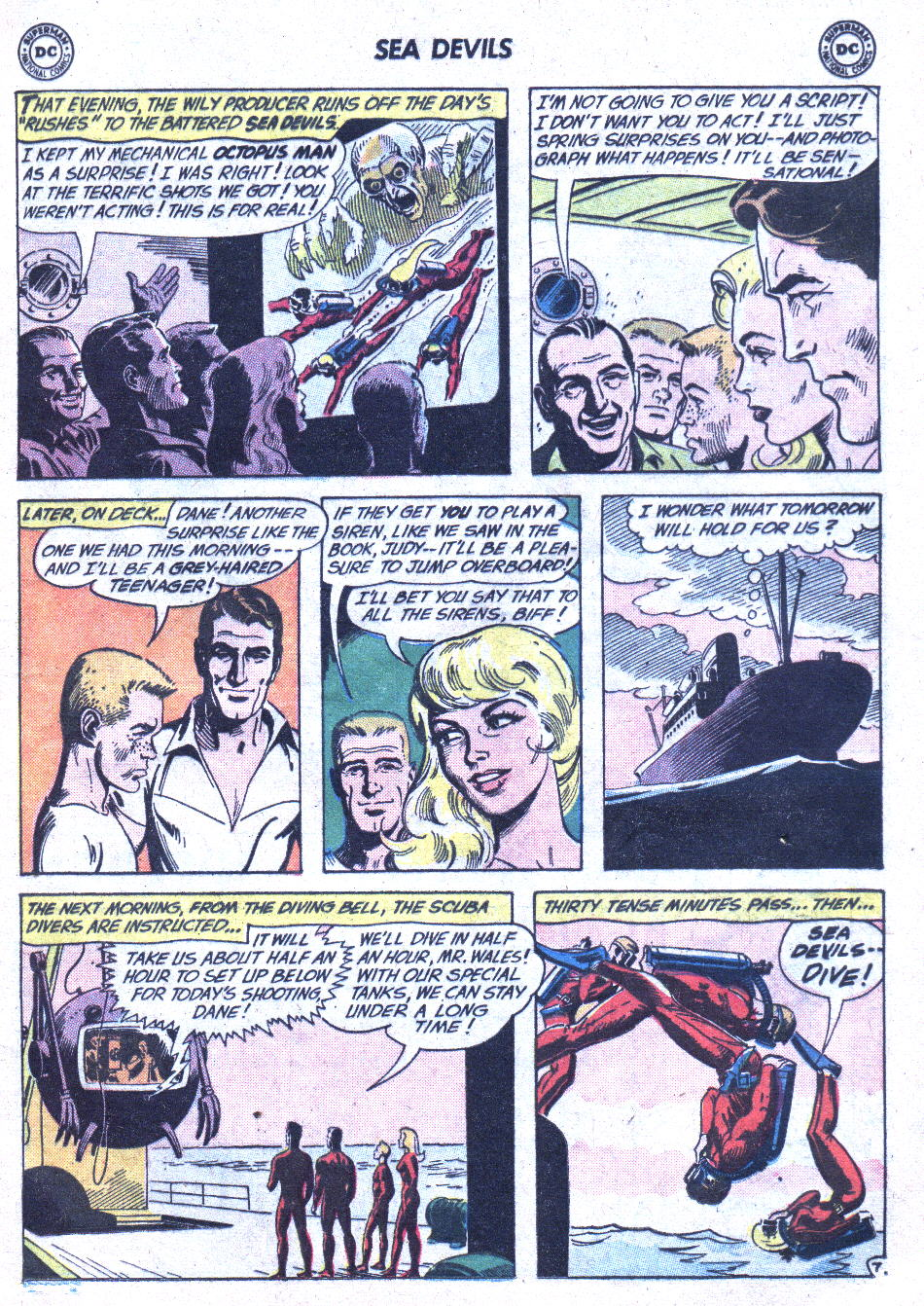 Read online Sea Devils comic -  Issue #1 - 10