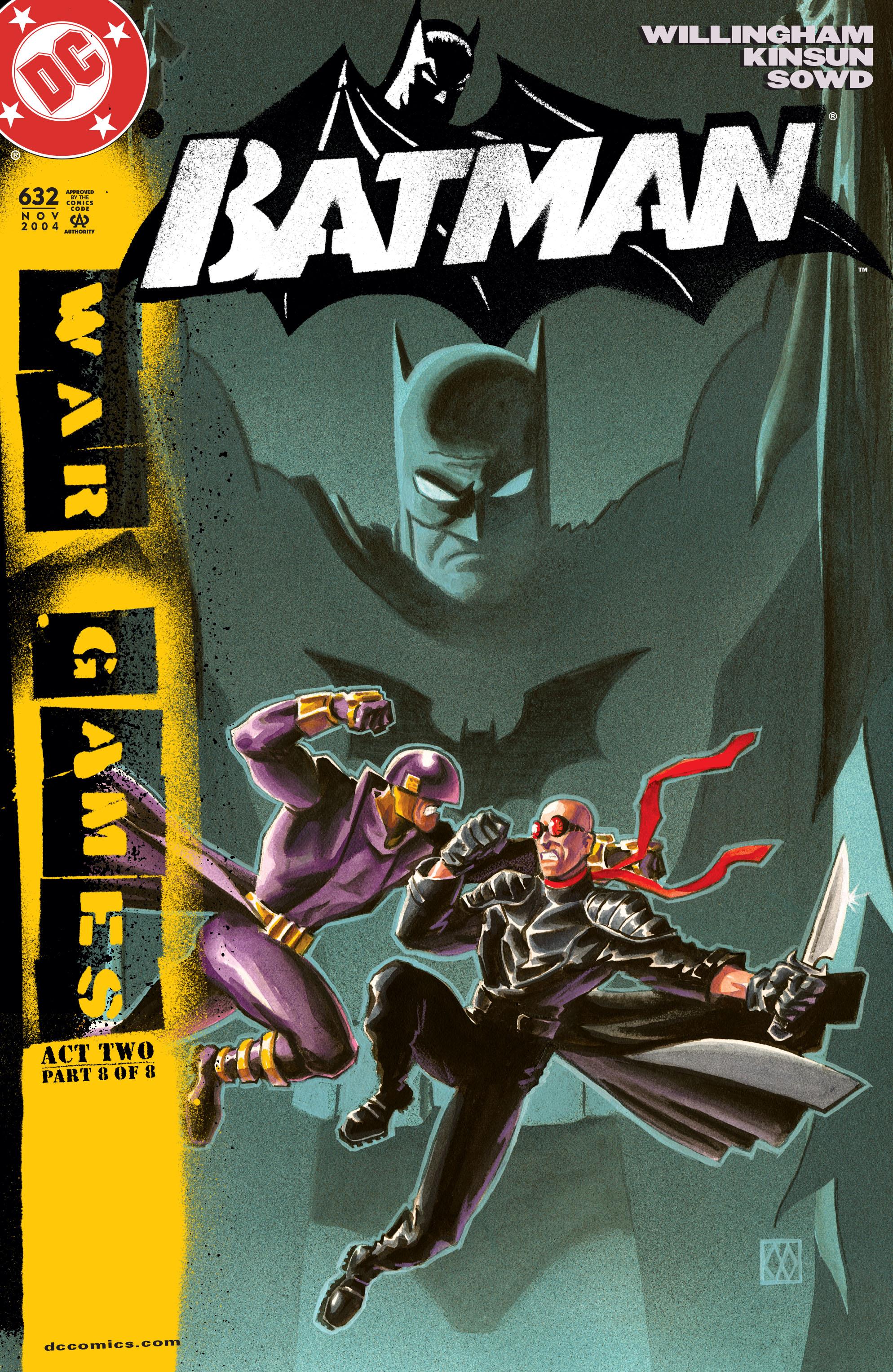 Batman (1940) 632 Page 1