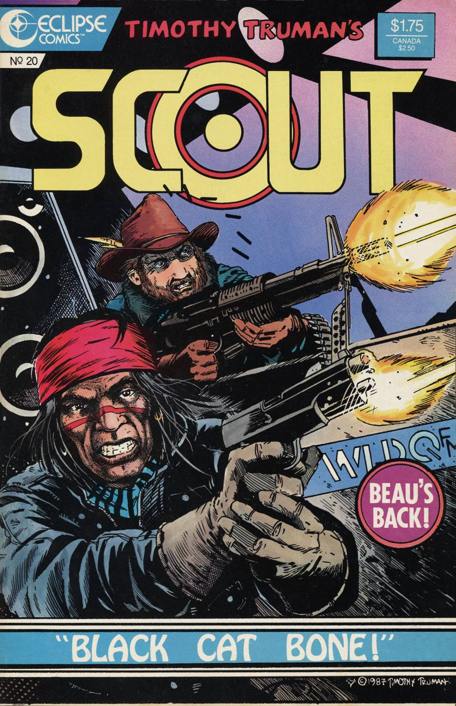 Read online Scout comic -  Issue #20 - 1
