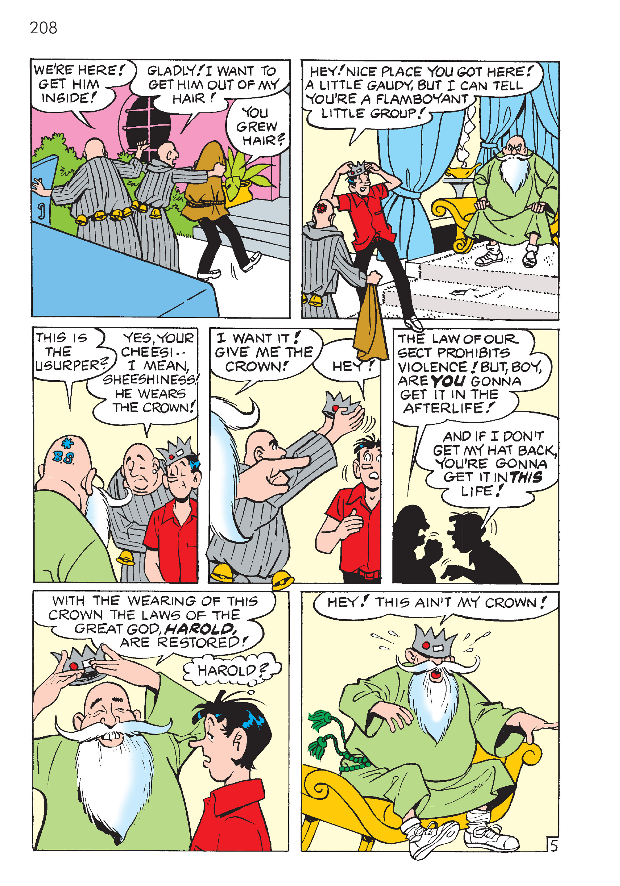 Read online The Best of Archie Comics comic -  Issue # TPB 4 (Part 1) - 209