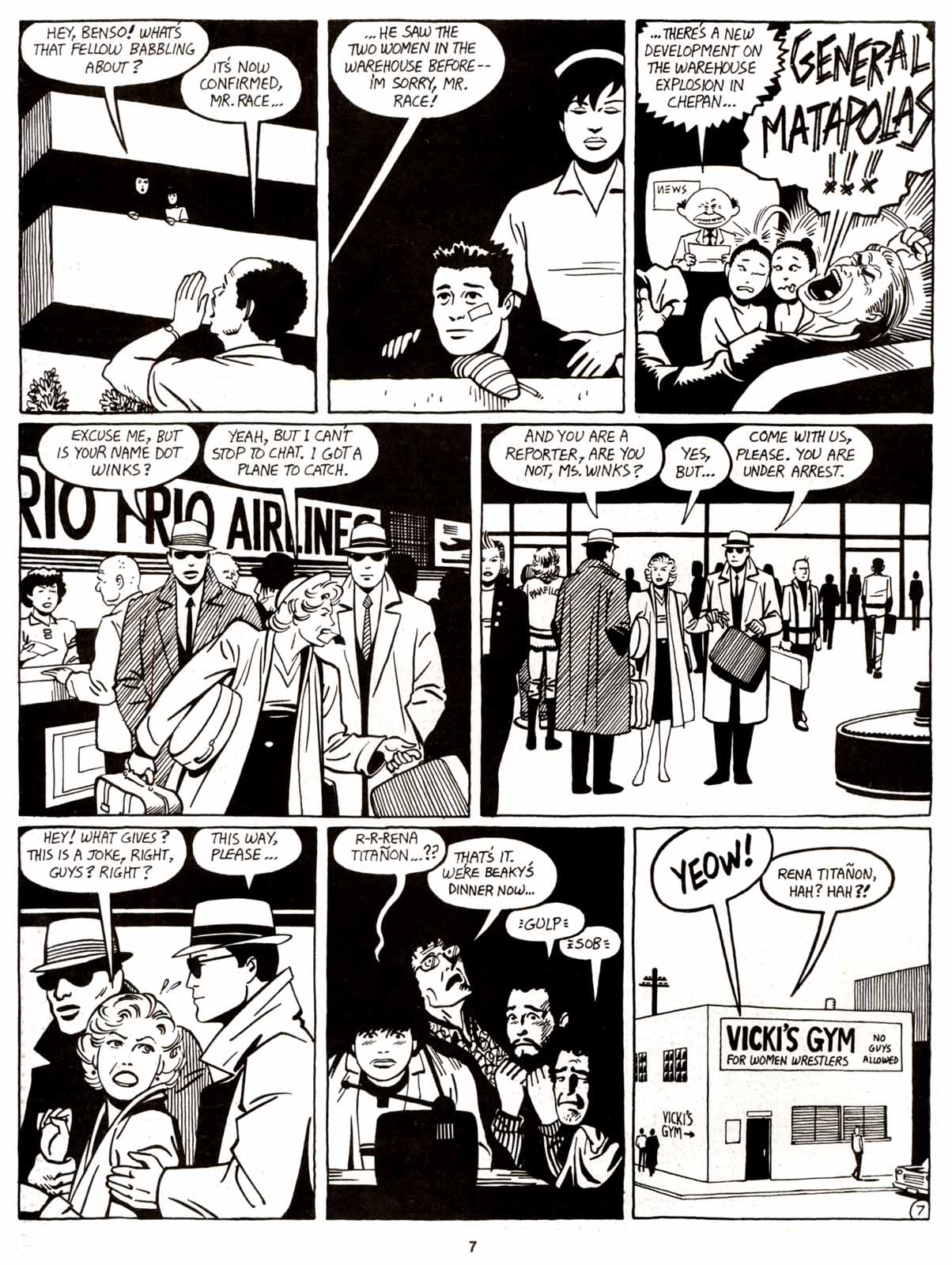 Love and Rockets (1982) Issue #9 #8 - English 9