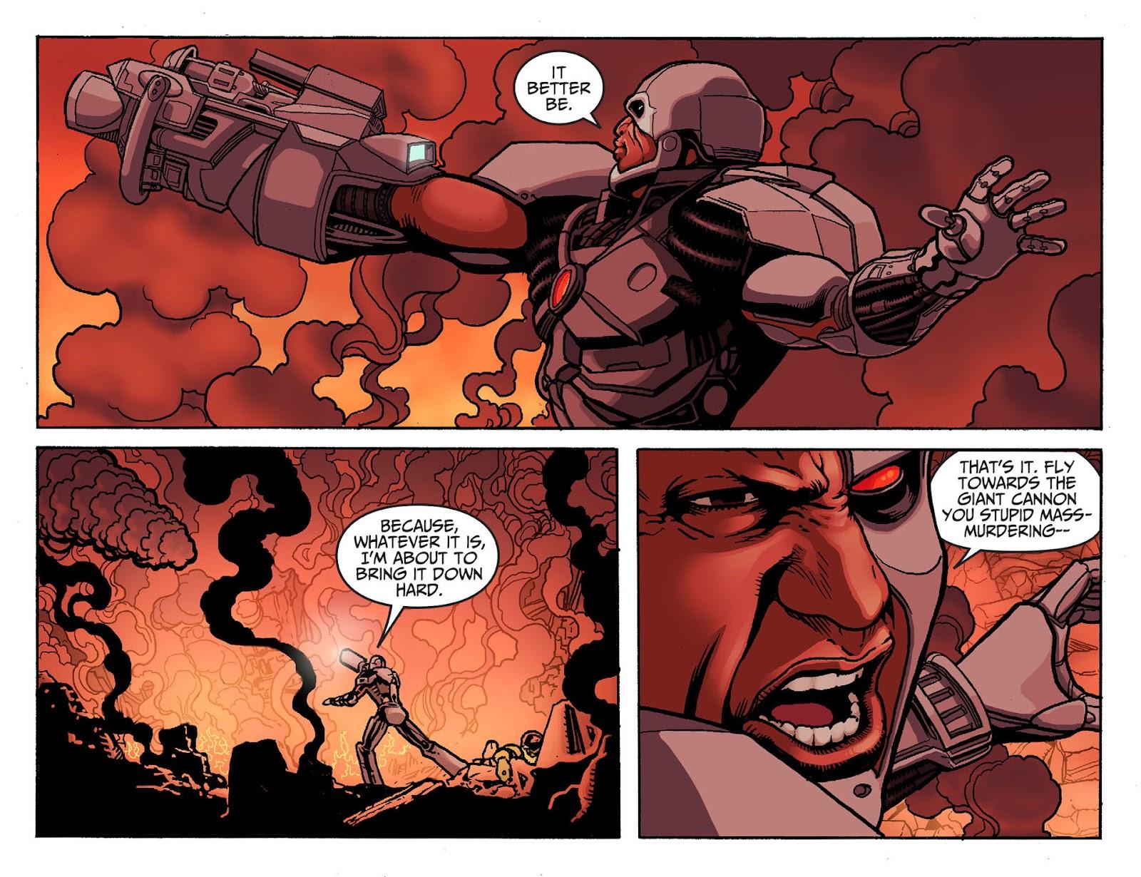 Injustice: Gods Among Us [I] Issue #19 #20 - English 8