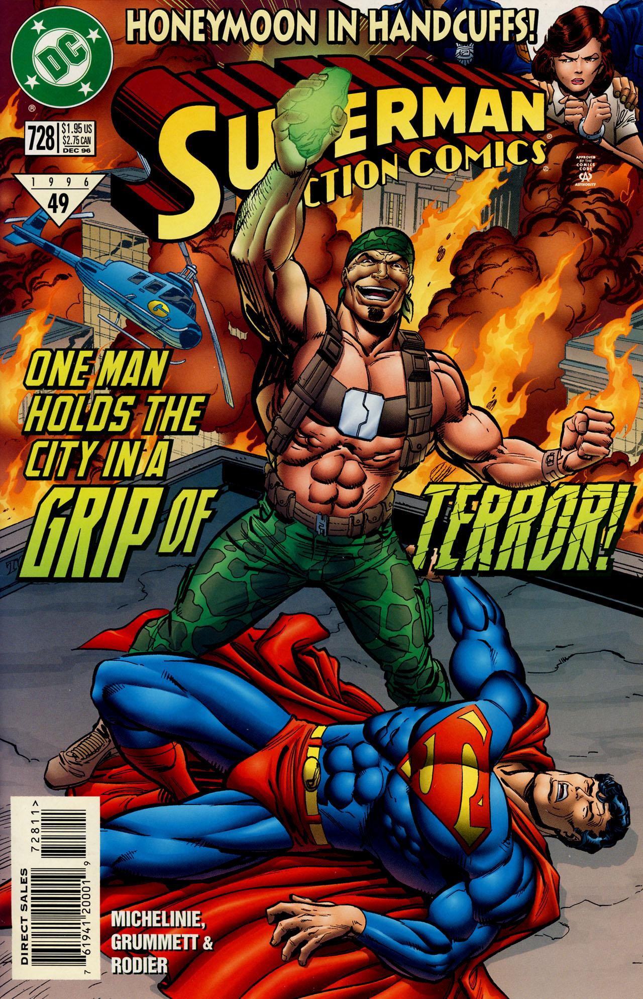 Action Comics (1938) 728 Page 1