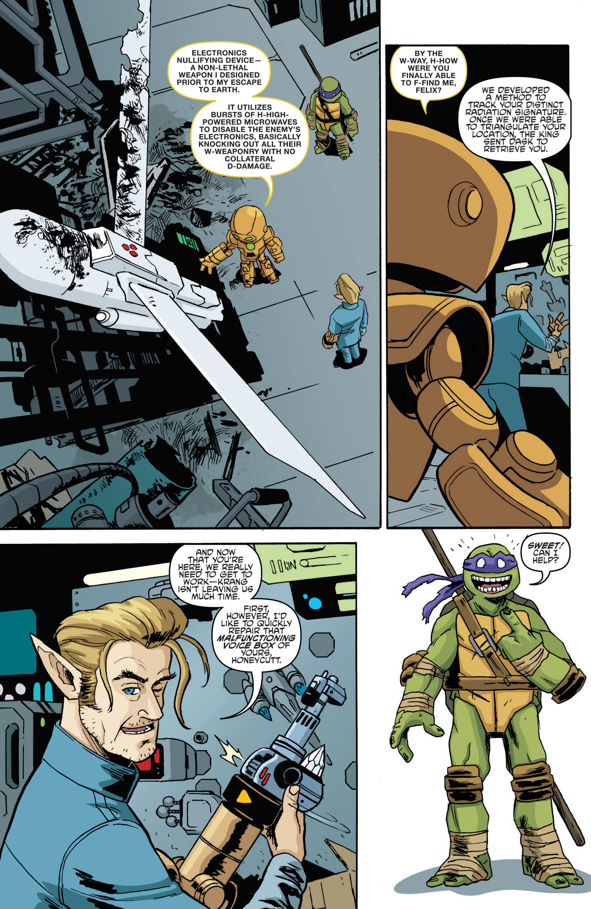 Read online Teenage Mutant Ninja Turtles (2011) comic -  Issue #19 - 15