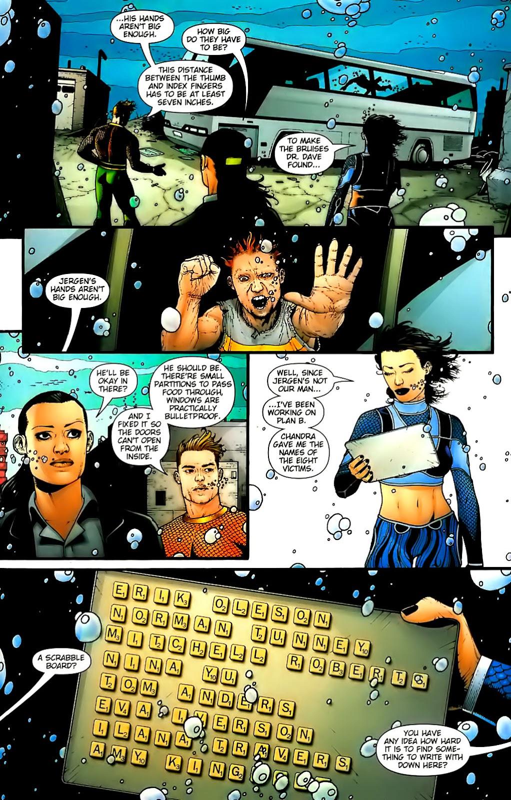 Aquaman (2003) Issue #30 #30 - English 19
