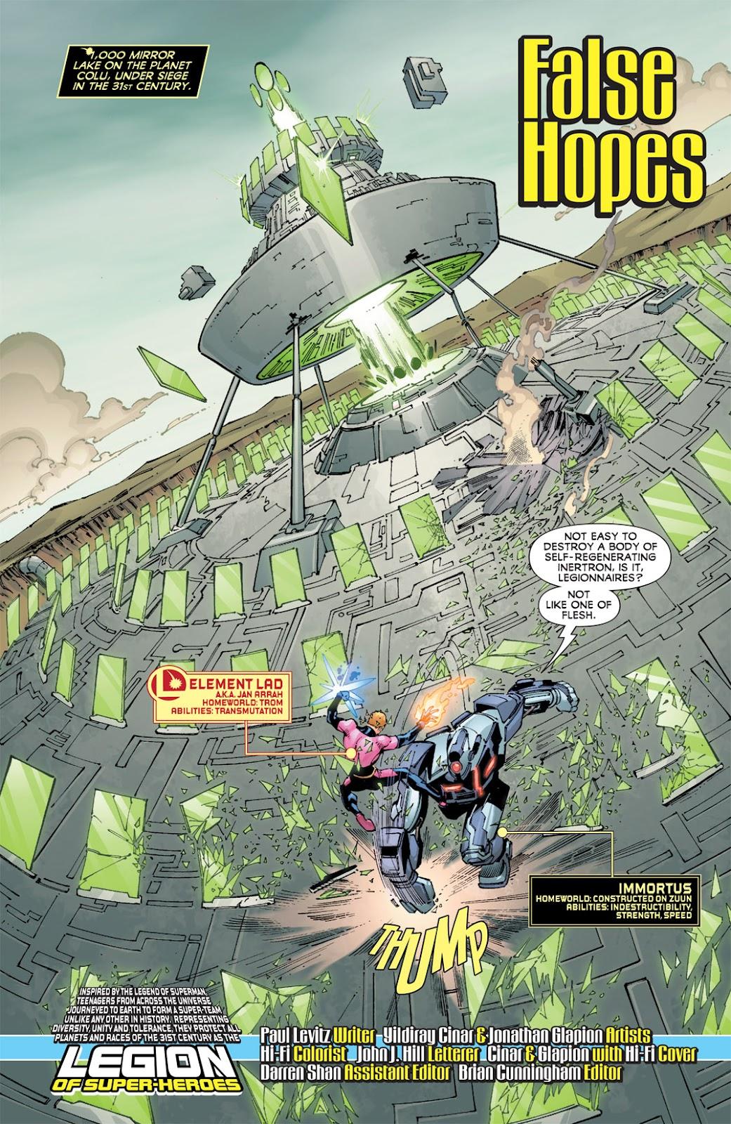 Legion of Super-Heroes (2010) Issue #13 #14 - English 2