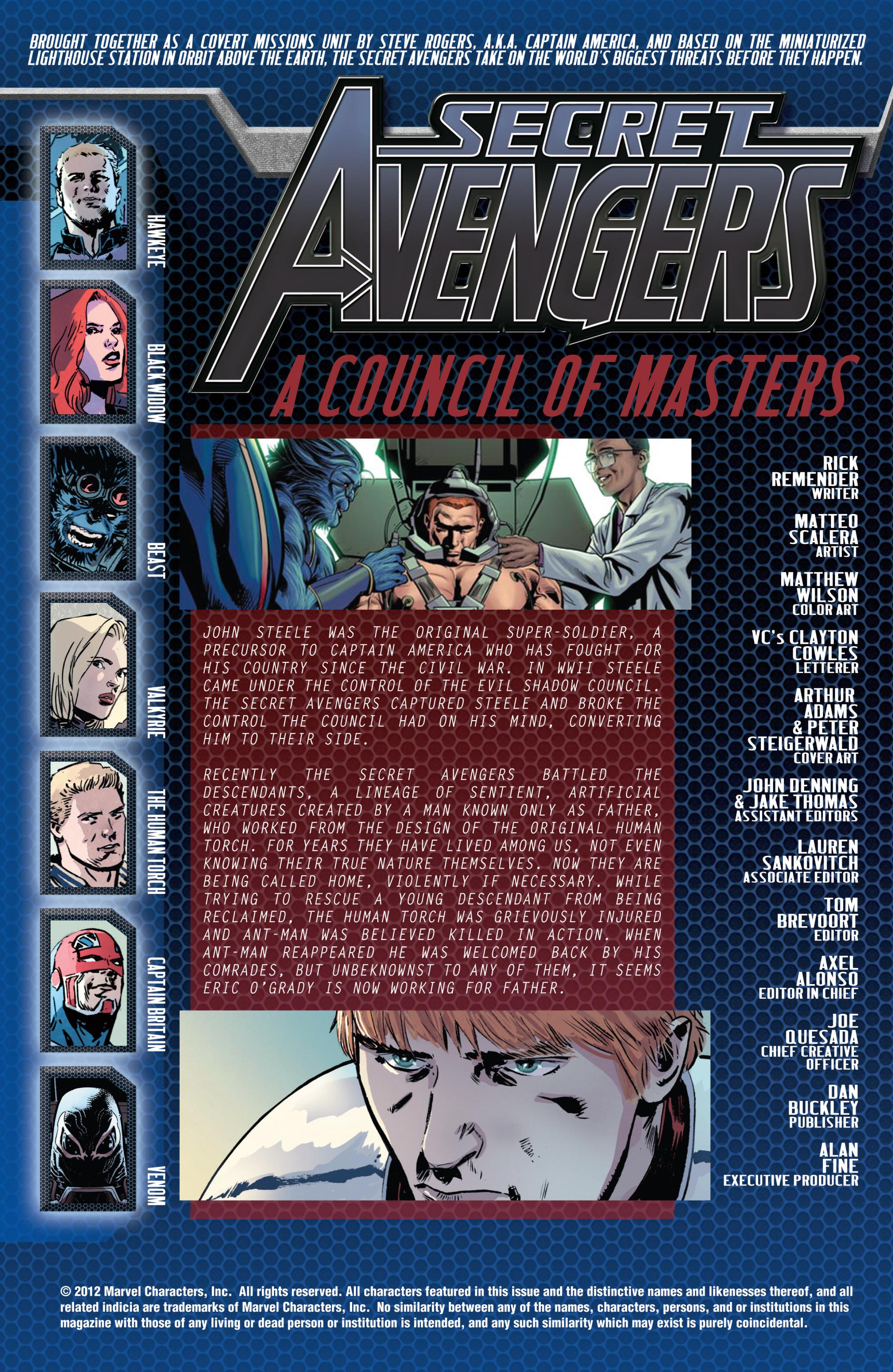 Read online Secret Avengers (2010) comic -  Issue #29 - 4