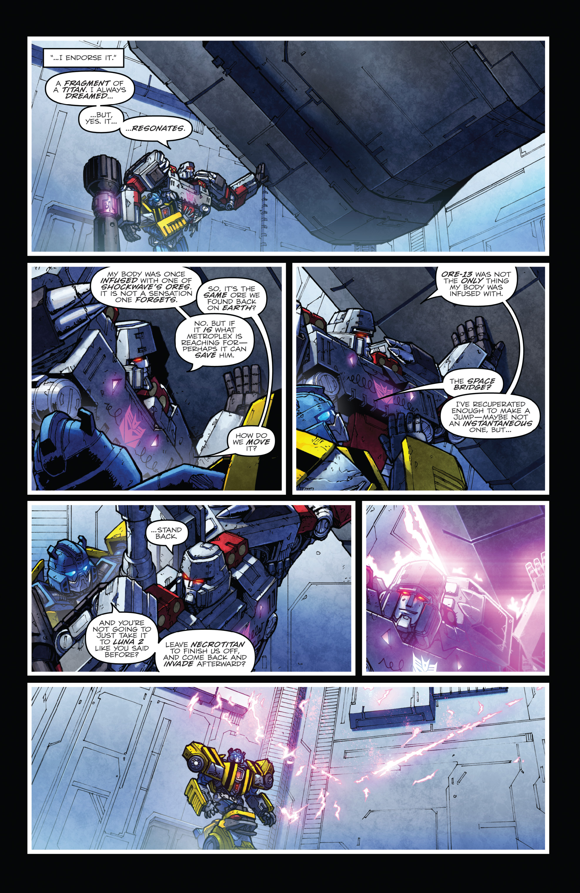 Read online The Transformers: Dark Cybertron Finale comic -  Issue # Full - 65