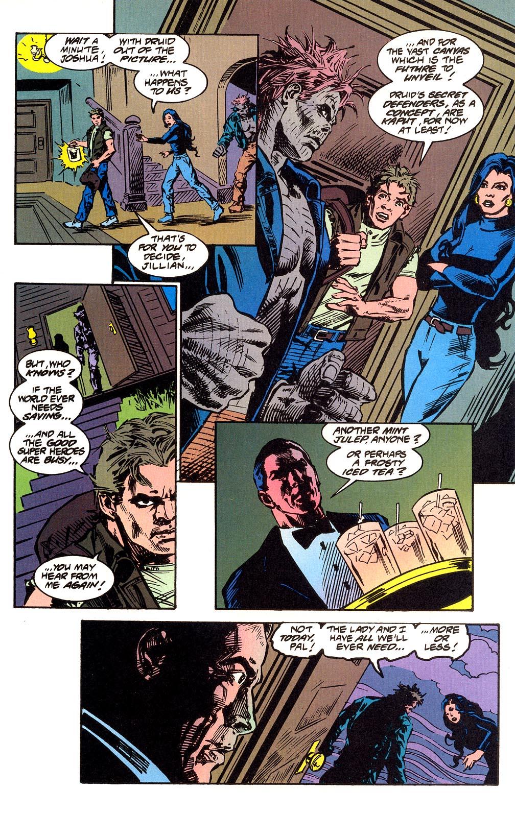 Read online Secret Defenders comic -  Issue #25 - 36