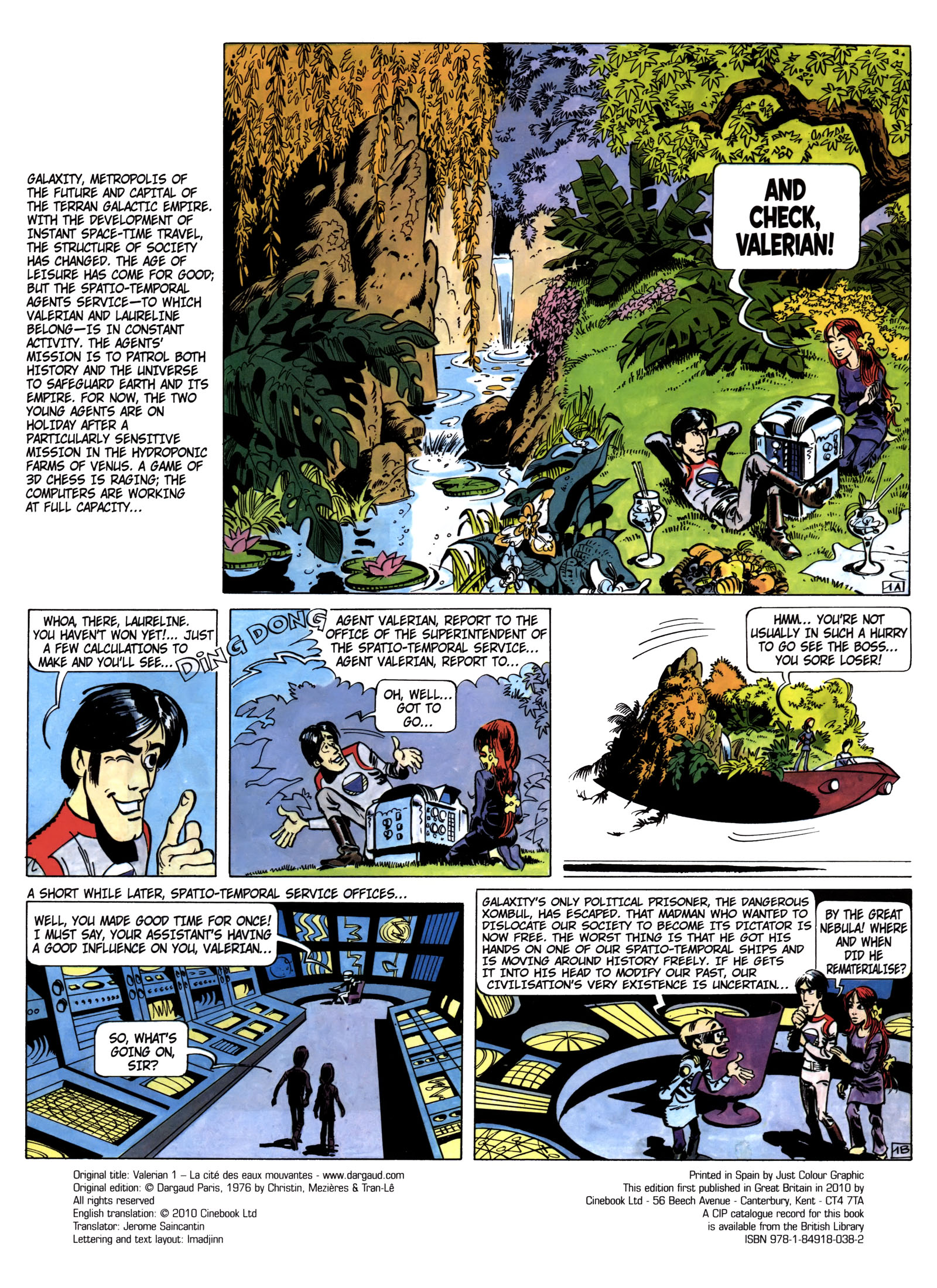 Valerian and Laureline #1 #23 - English 3