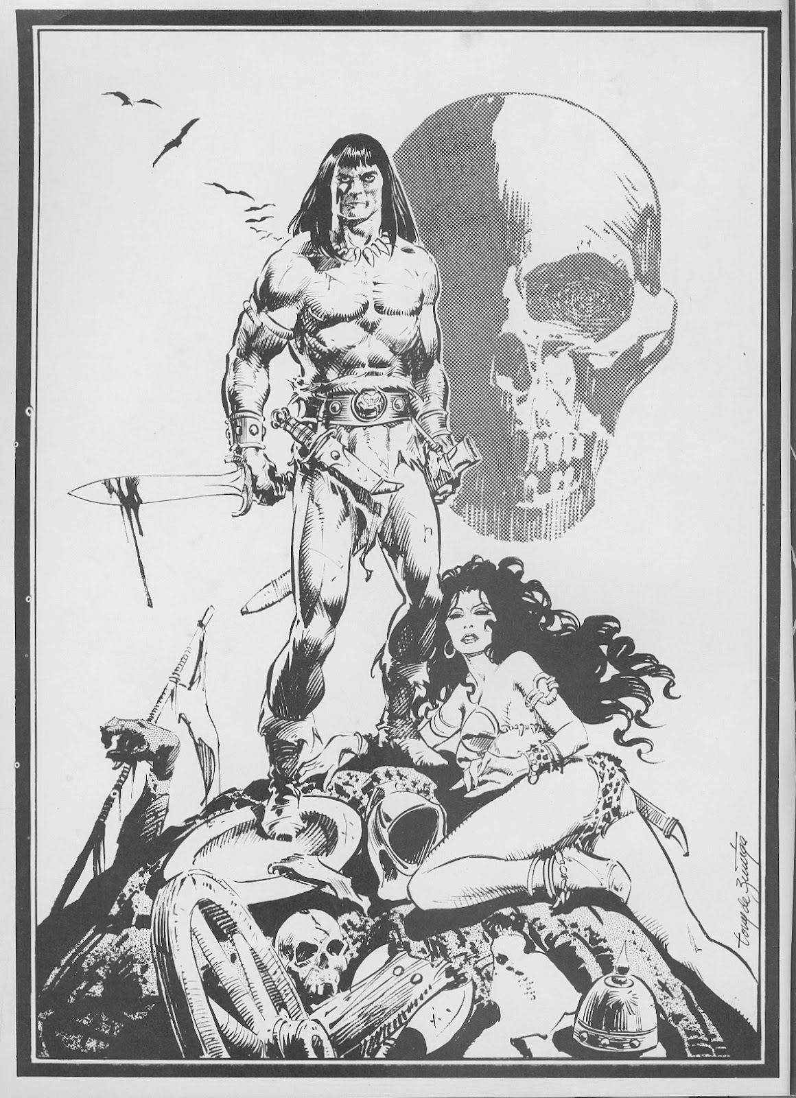 The Savage Sword Of Conan Issue #44 #45 - English 2
