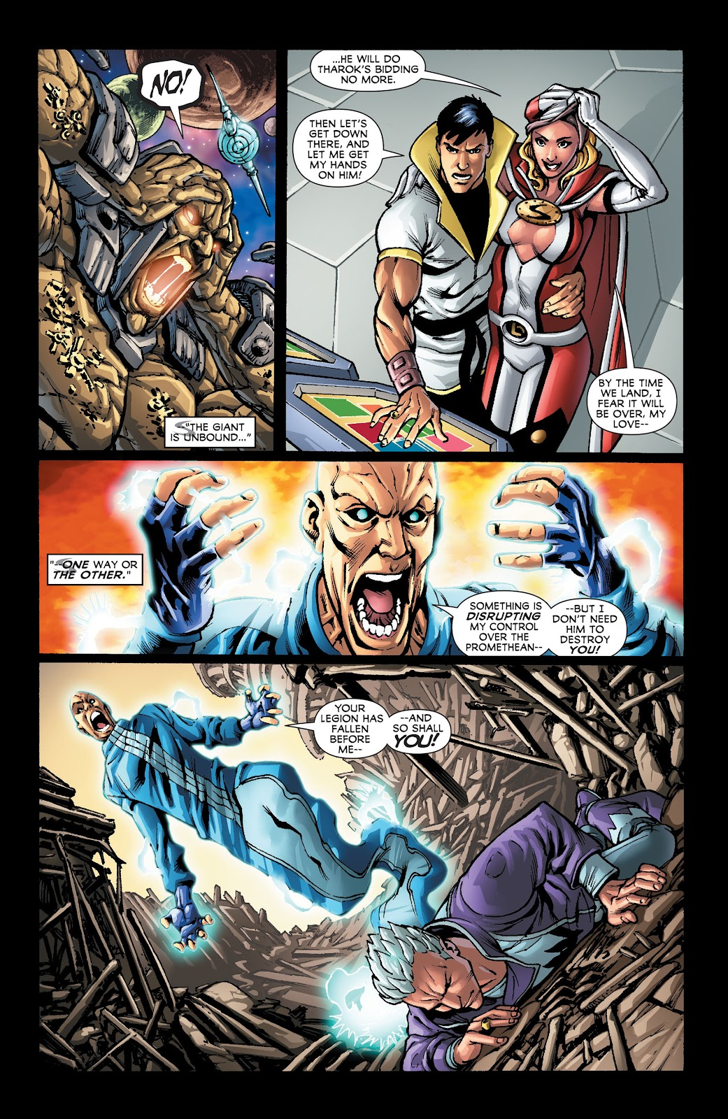 Legion of Super-Heroes (2011) Issue #22 #23 - English 17