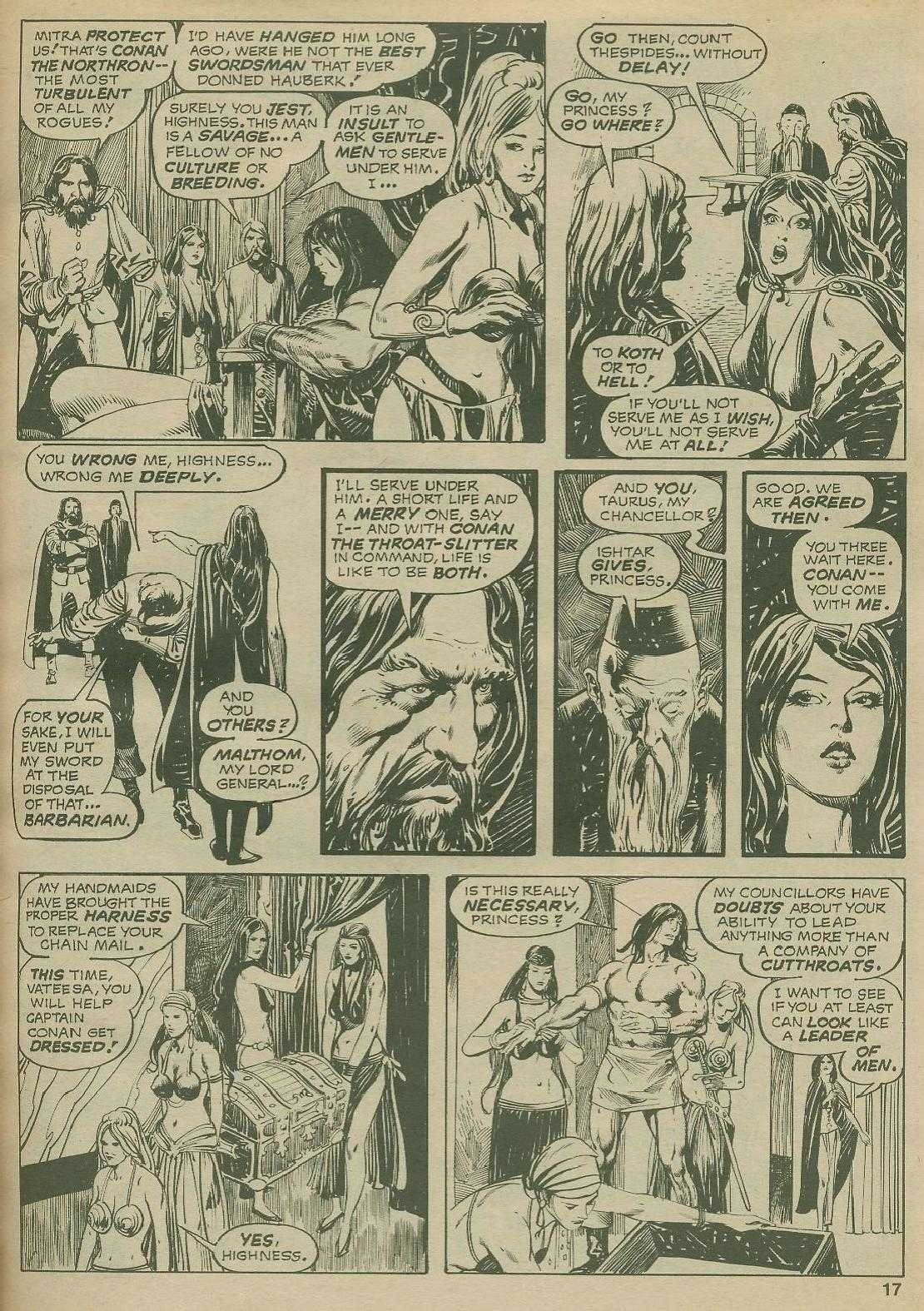 The Savage Sword Of Conan Issue #2 #3 - English 17