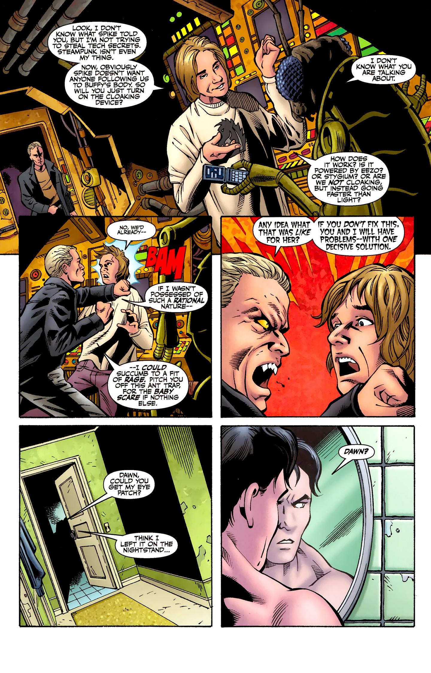 Read online Buffy the Vampire Slayer Season Nine comic -  Issue #8 - 18