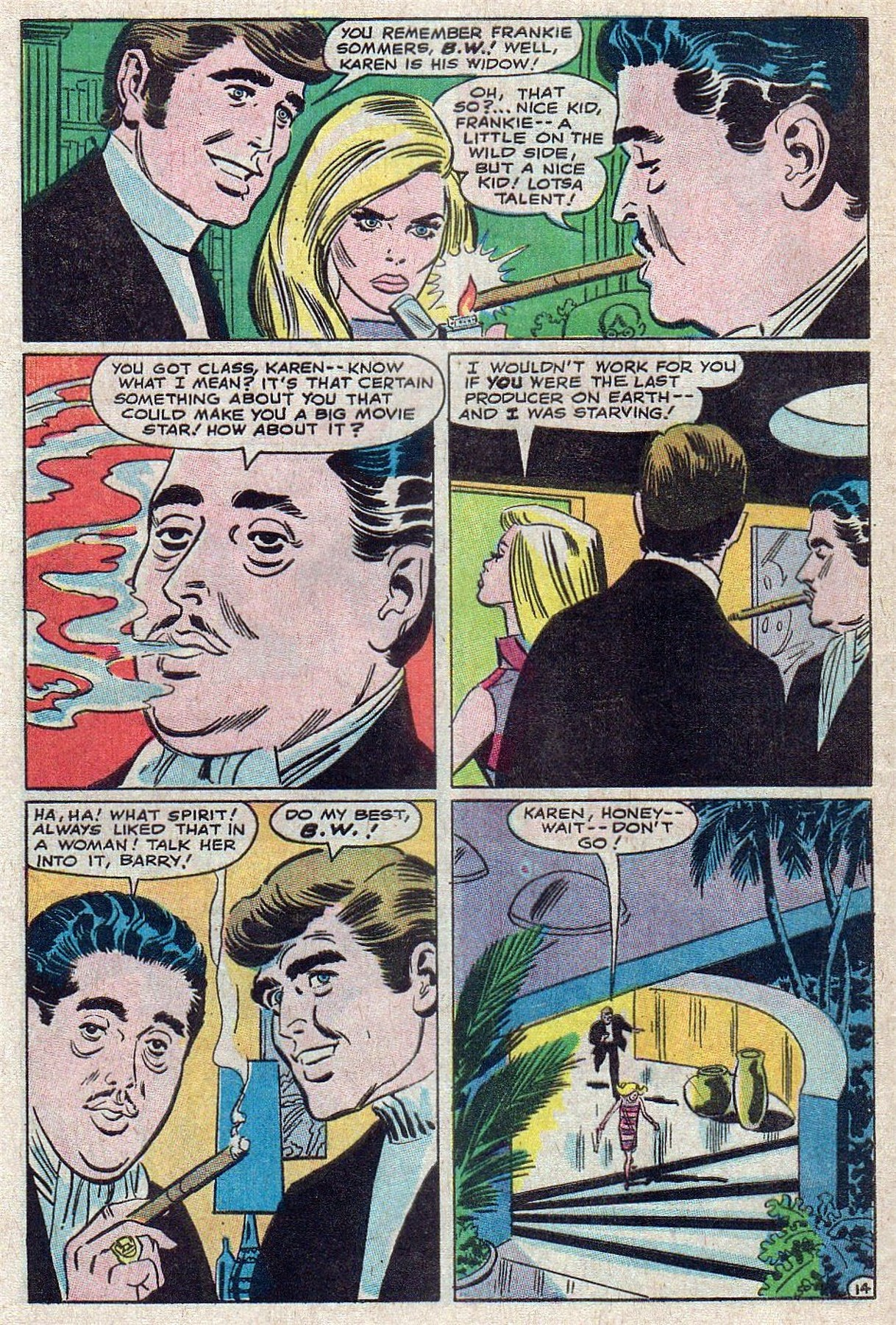 Read online Secret Hearts comic -  Issue #129 - 32