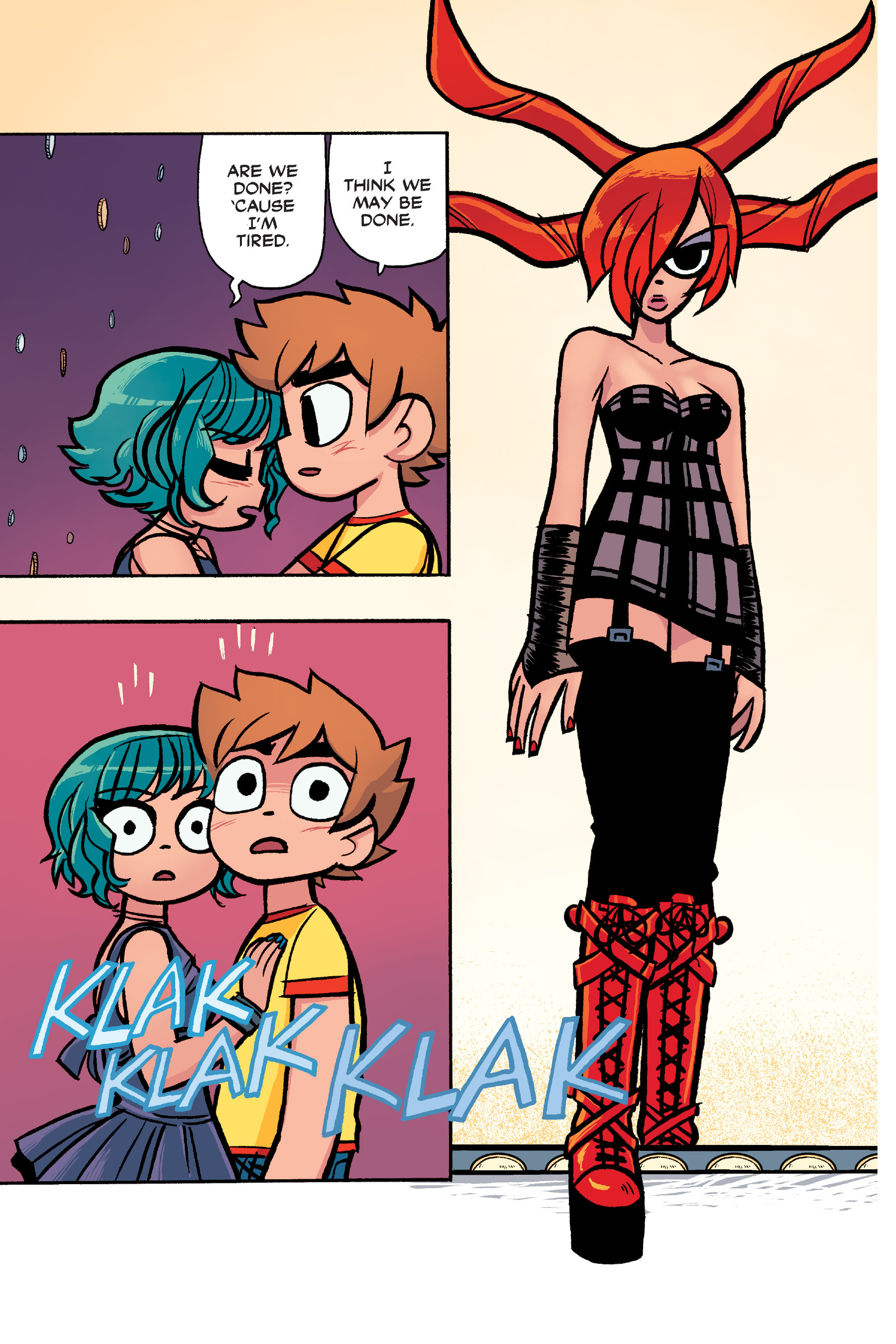 Read online Scott Pilgrim comic -  Issue #6 - 210