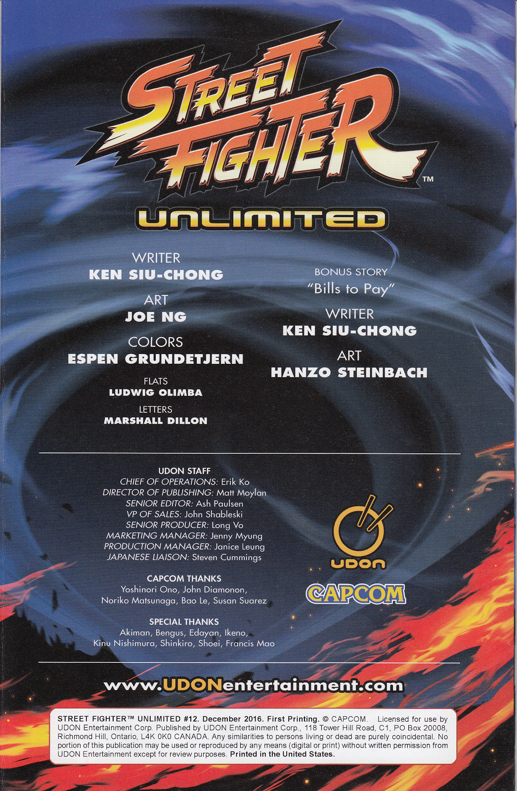 Street Fighter Unlimited Issue #12 #14 - English 2