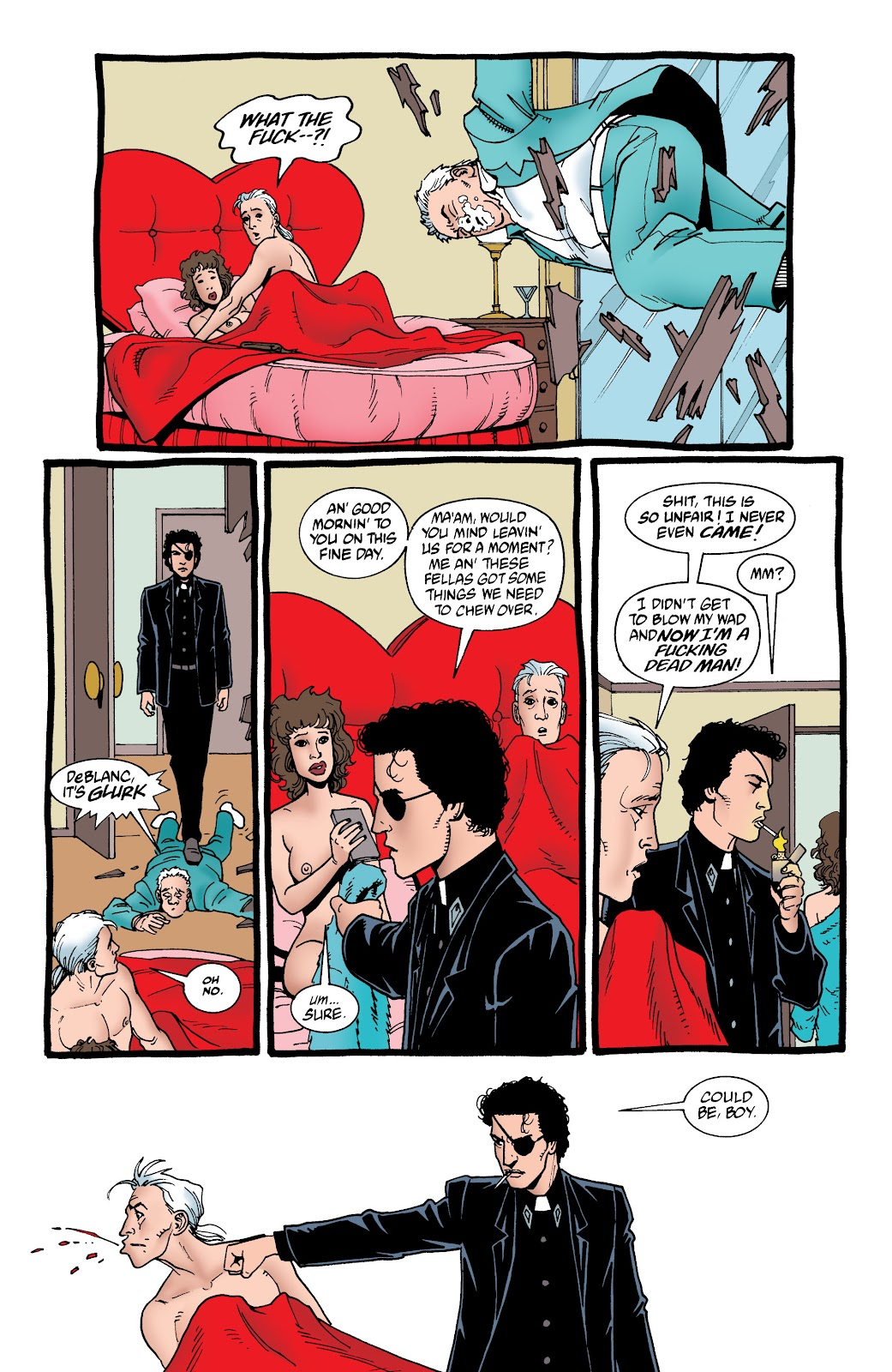 Preacher Issue #59 #68 - English 7