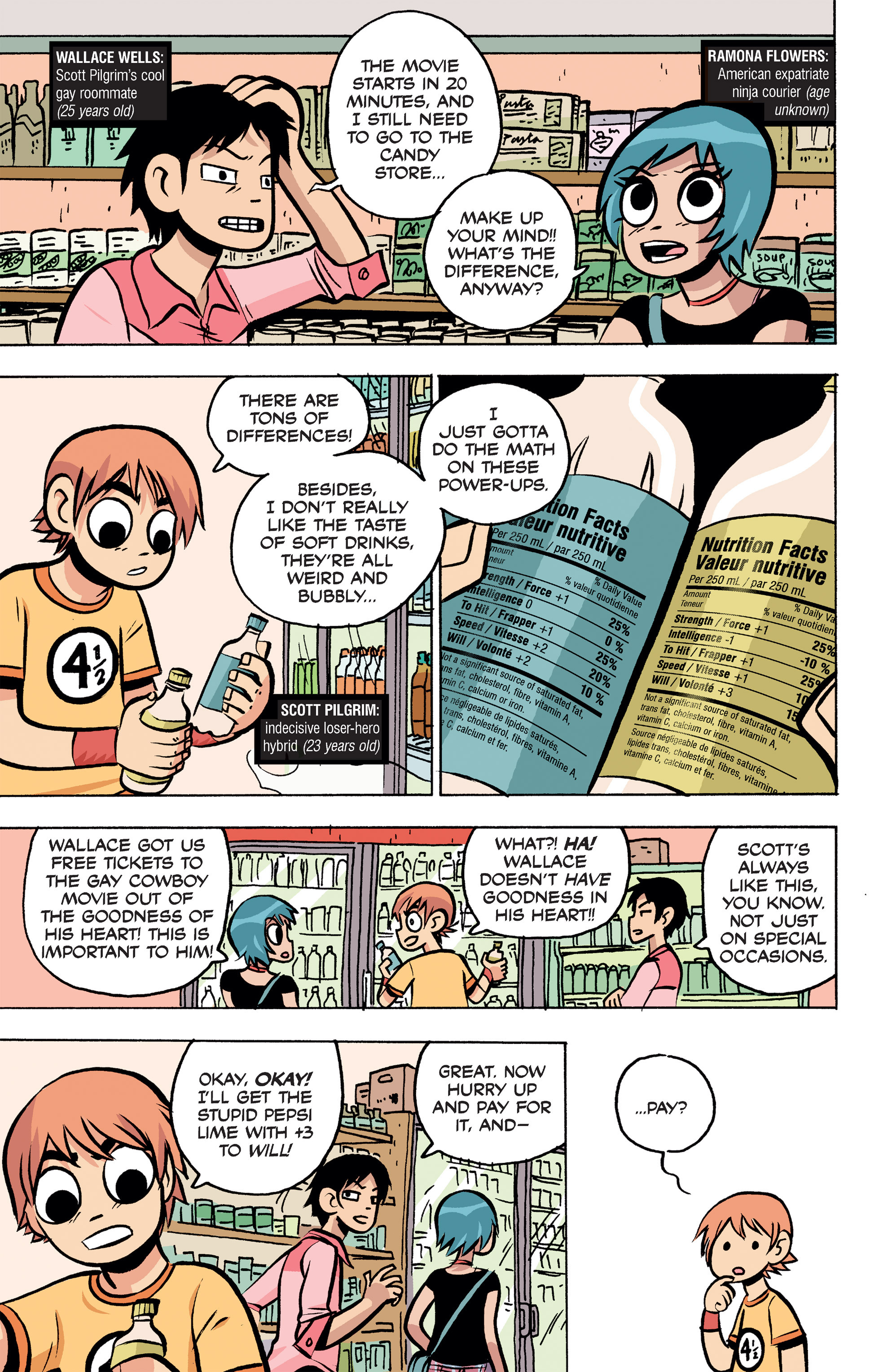 Read online Scott Pilgrim Free Comic Book Day Story comic -  Issue # Full - 3