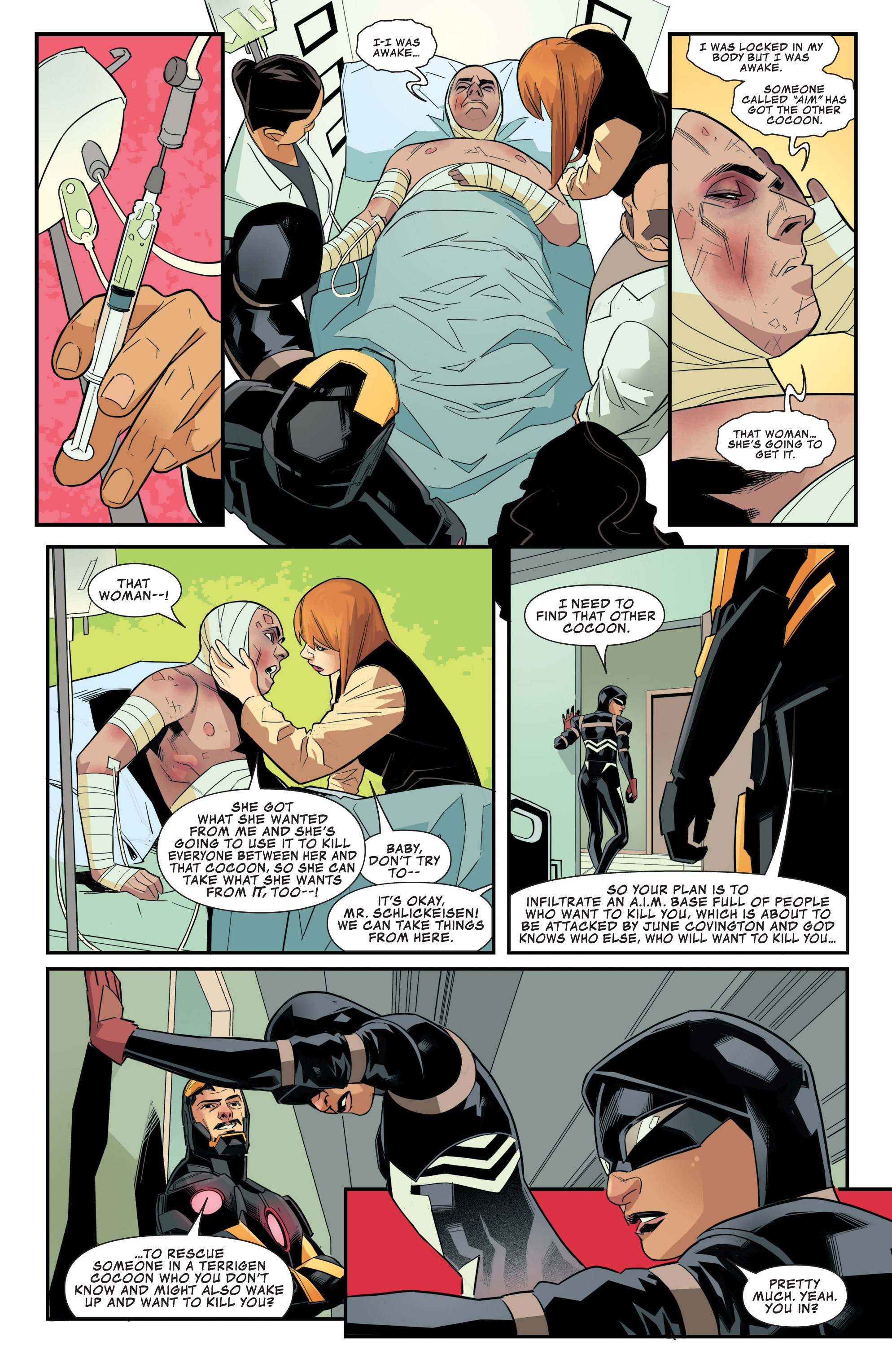 Read online Avengers Assemble (2012) comic -  Issue #24 - 16