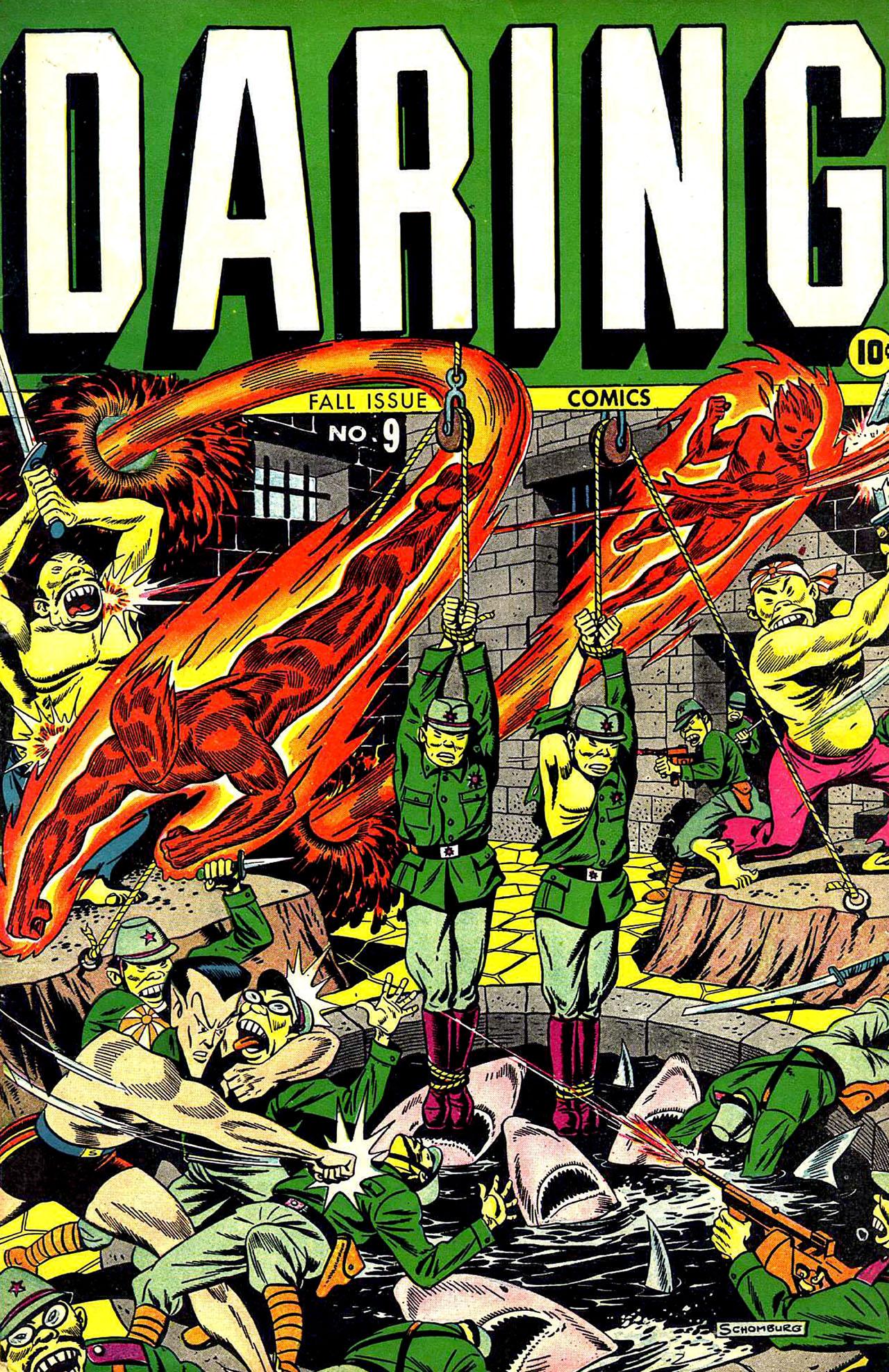 Daring Comics 9 Page 1