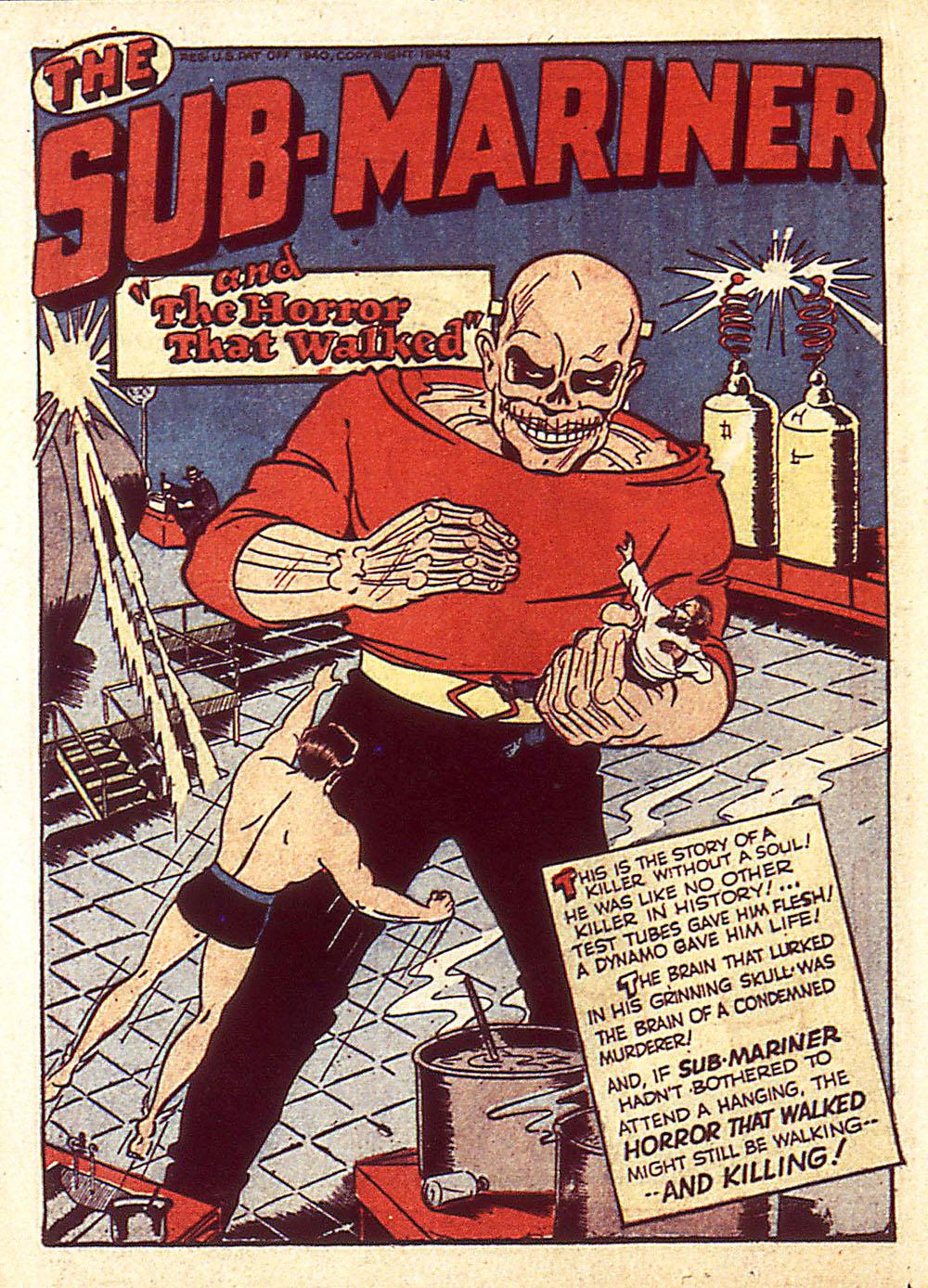 Sub-Mariner Comics Issue #4 #4 - English 25