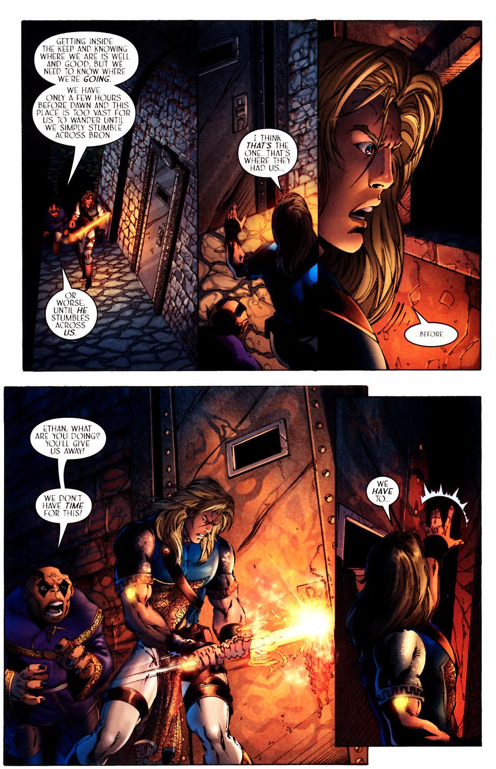 Read online Scion comic -  Issue #12 - 23