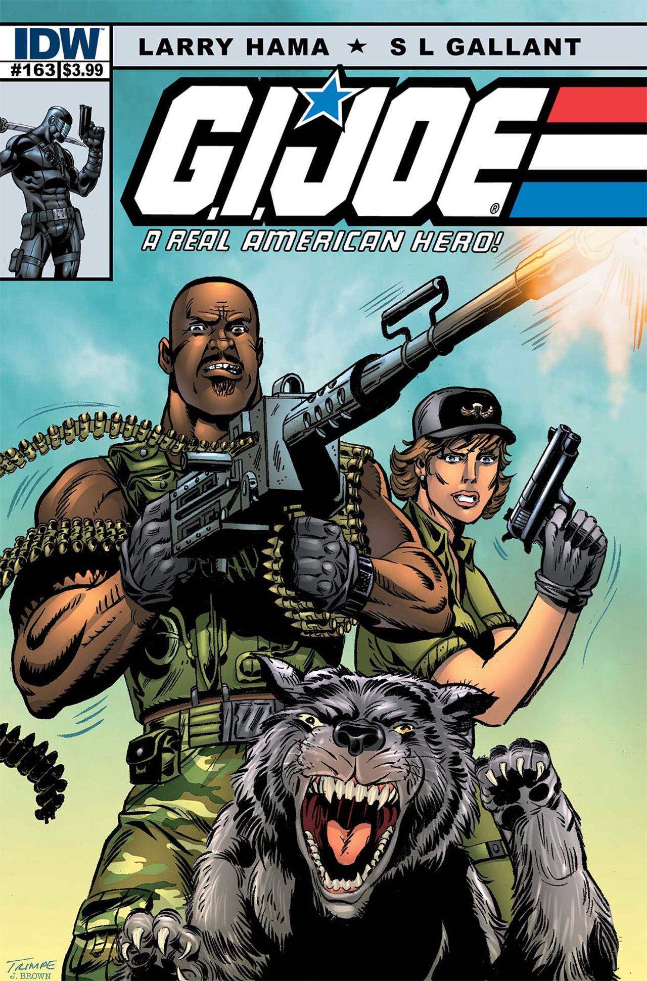 G.I. Joe: A Real American Hero 163 Page 1