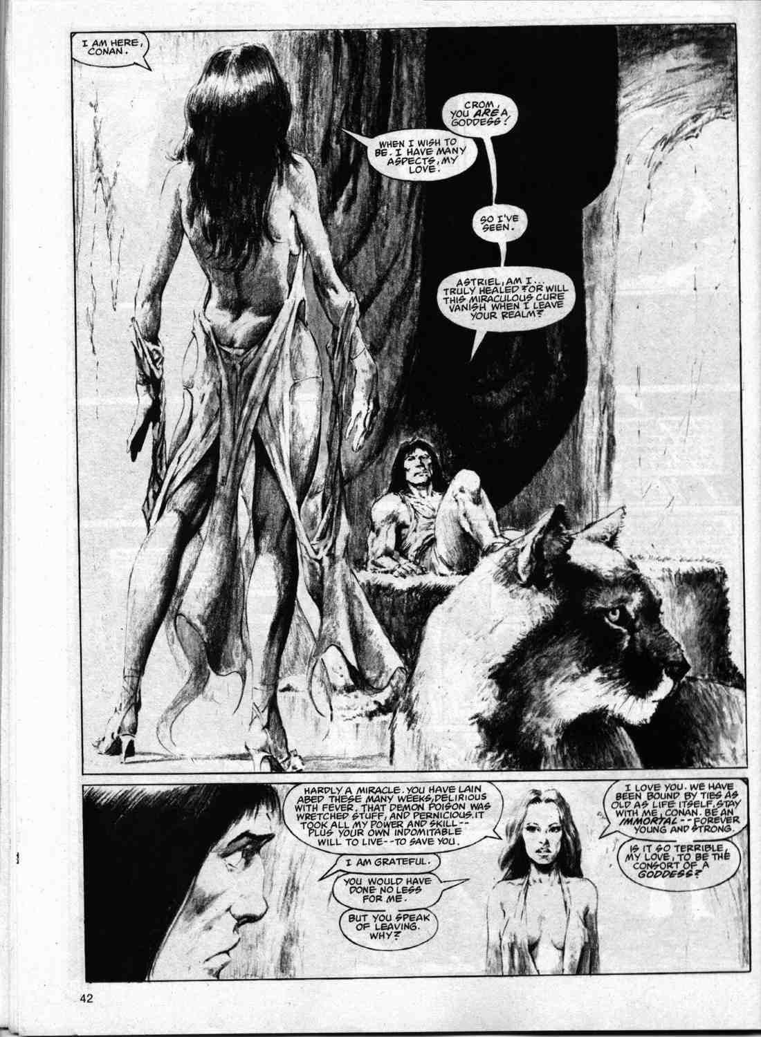 The Savage Sword Of Conan Issue #74 #75 - English 41