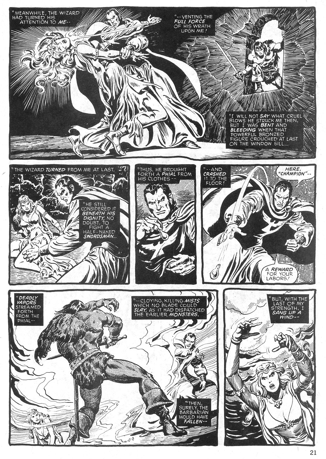 The Savage Sword Of Conan Issue #29 #30 - English 21