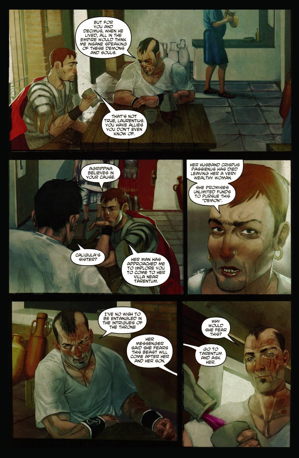 Caligula: Heart of Rome Issue #1 #1 - English 8
