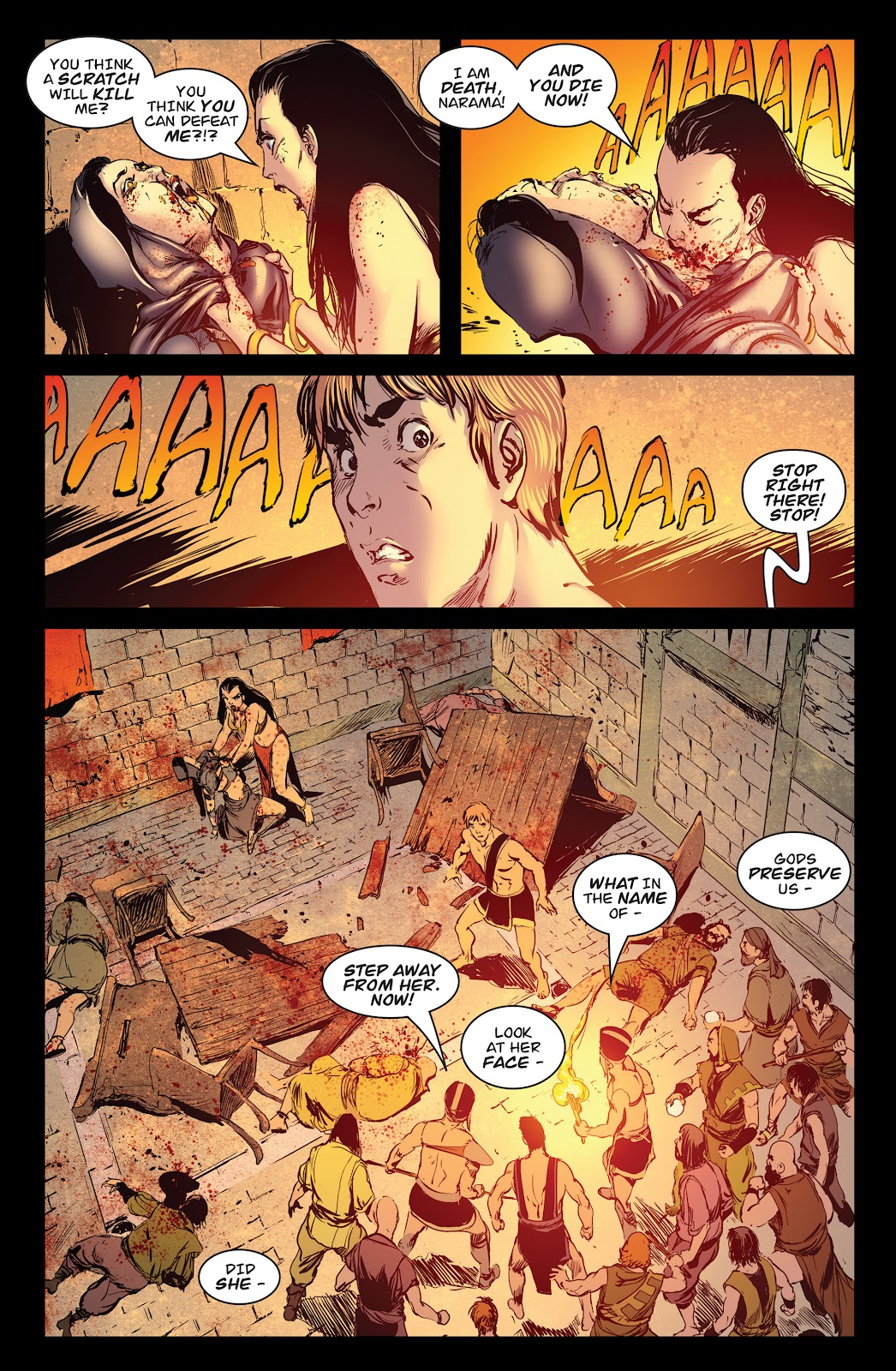 Queen of Vampires Issue #7 #7 - English 27