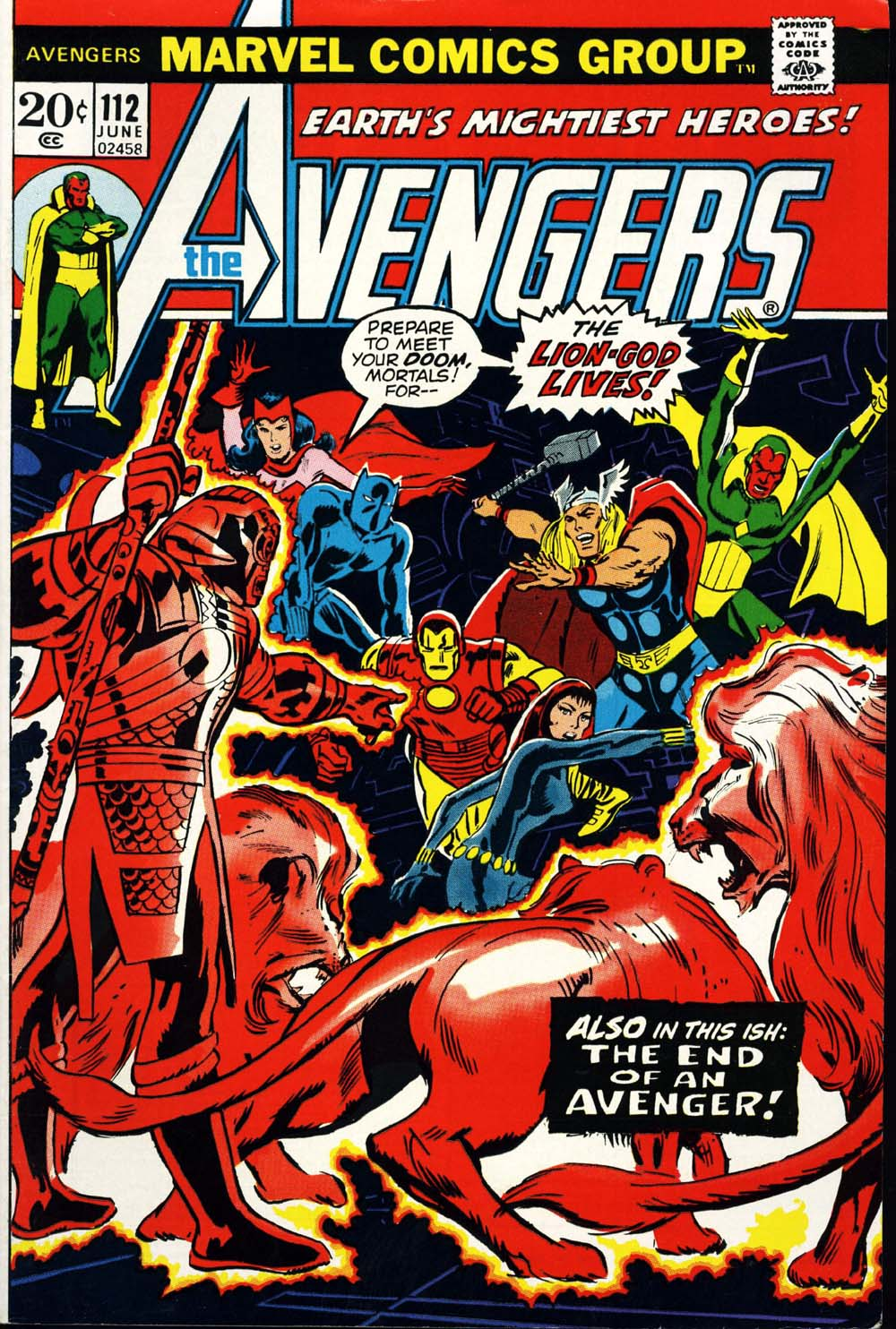 The Avengers (1963) 112 Page 1